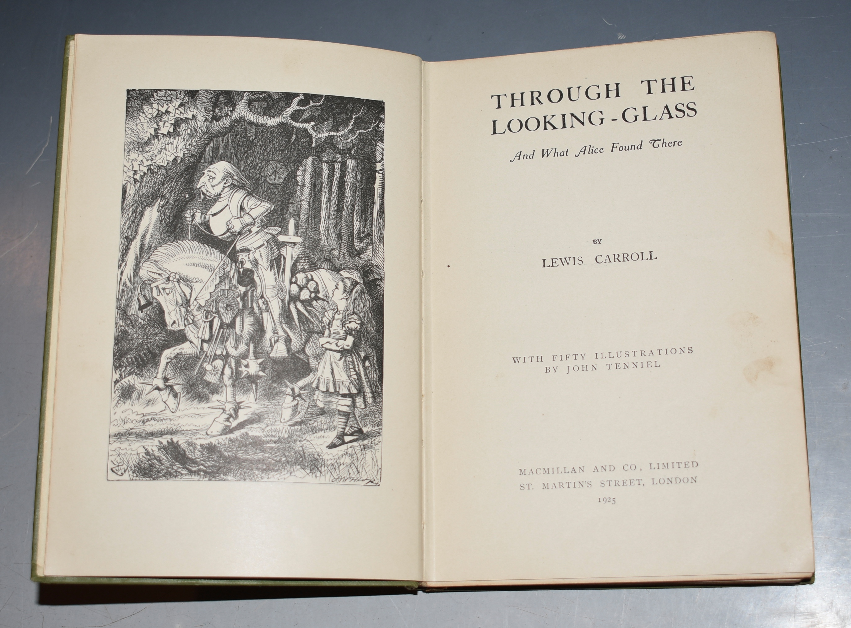 Image for Through The Looking-Glass and What Alice Found There. With Fifty Illustrations by John Tenniel. People's Edition.