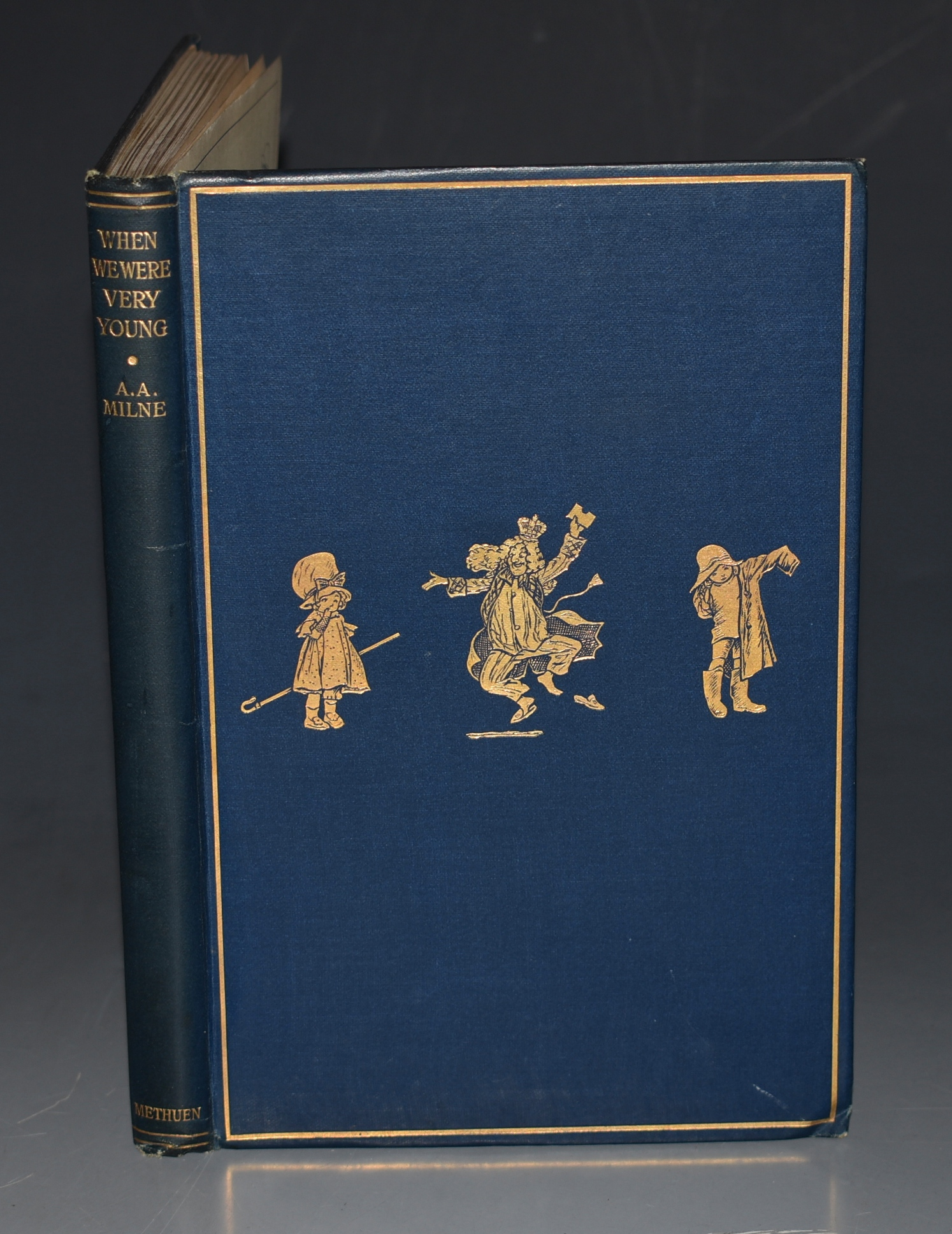 Image for When We Were Very Young. By A. A. Milne with Decorations by Ernest H. Shepard. Fifth Edition. With WRAPPER.