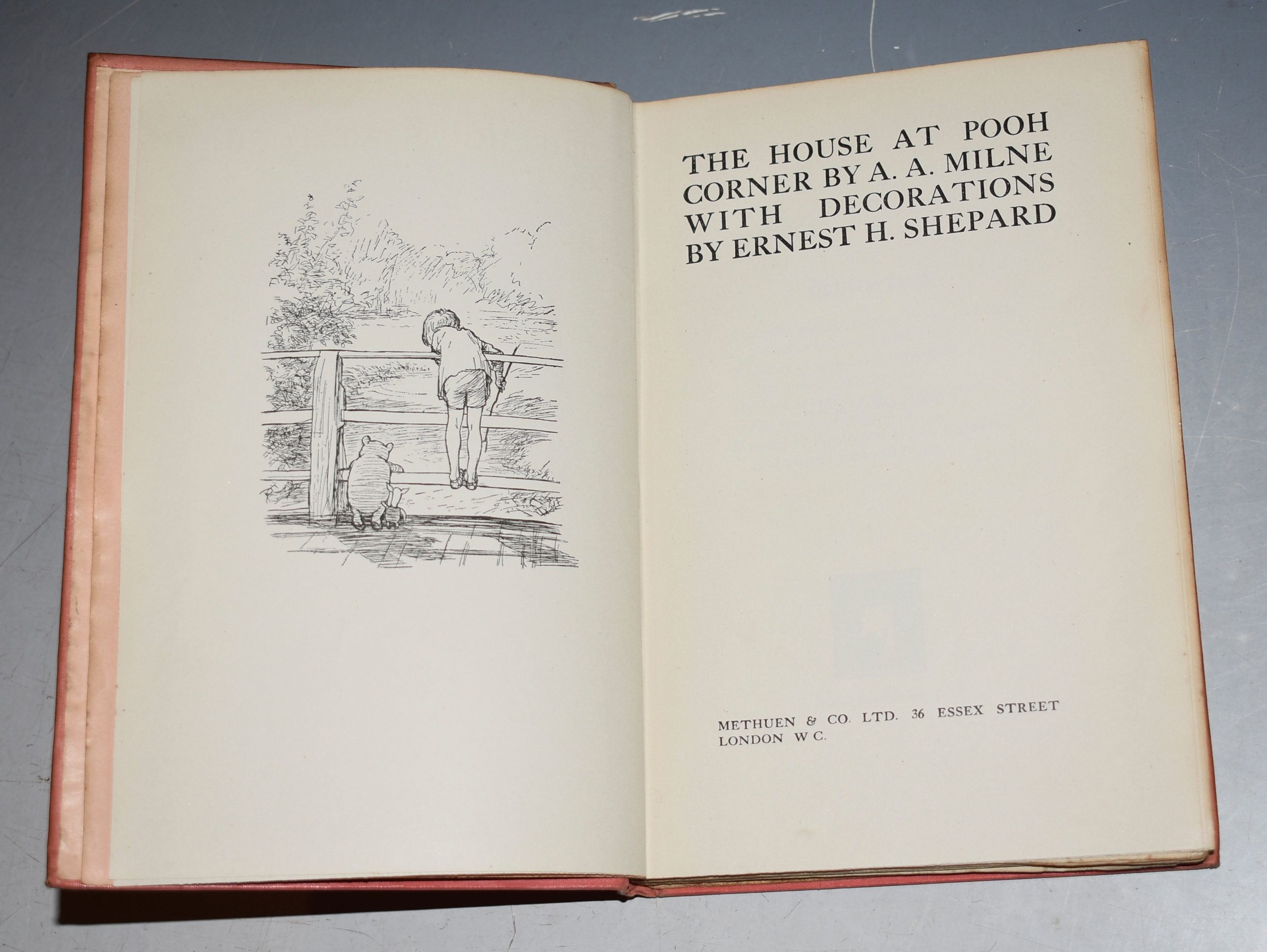Image for The House at Pooh Corner. With Decorations by Ernest H. Shepard.