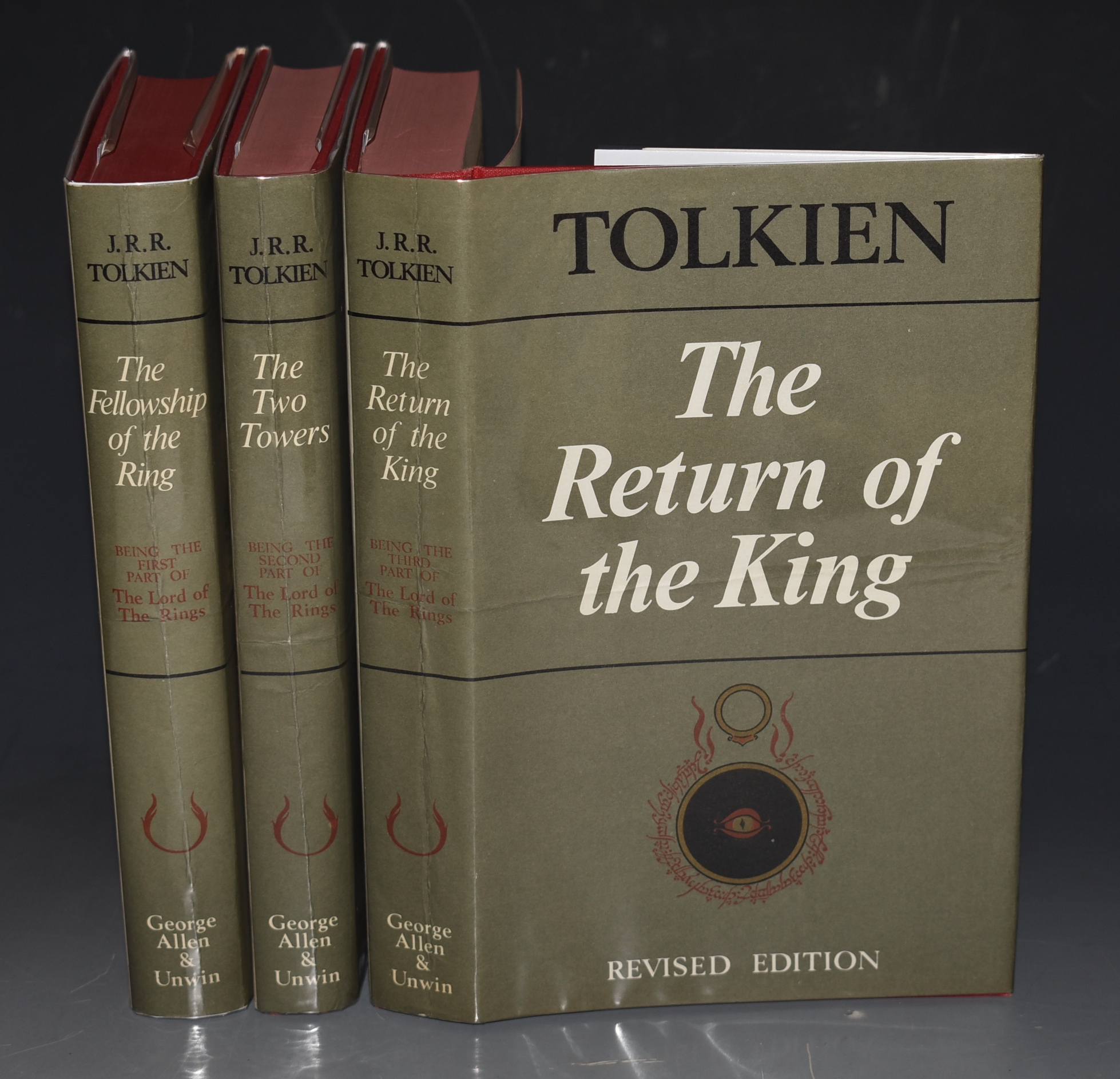 Image for The Lord Of The Rings Trilogy: The Fellowship Of The Ring, The Two Towers, The Return Of The King