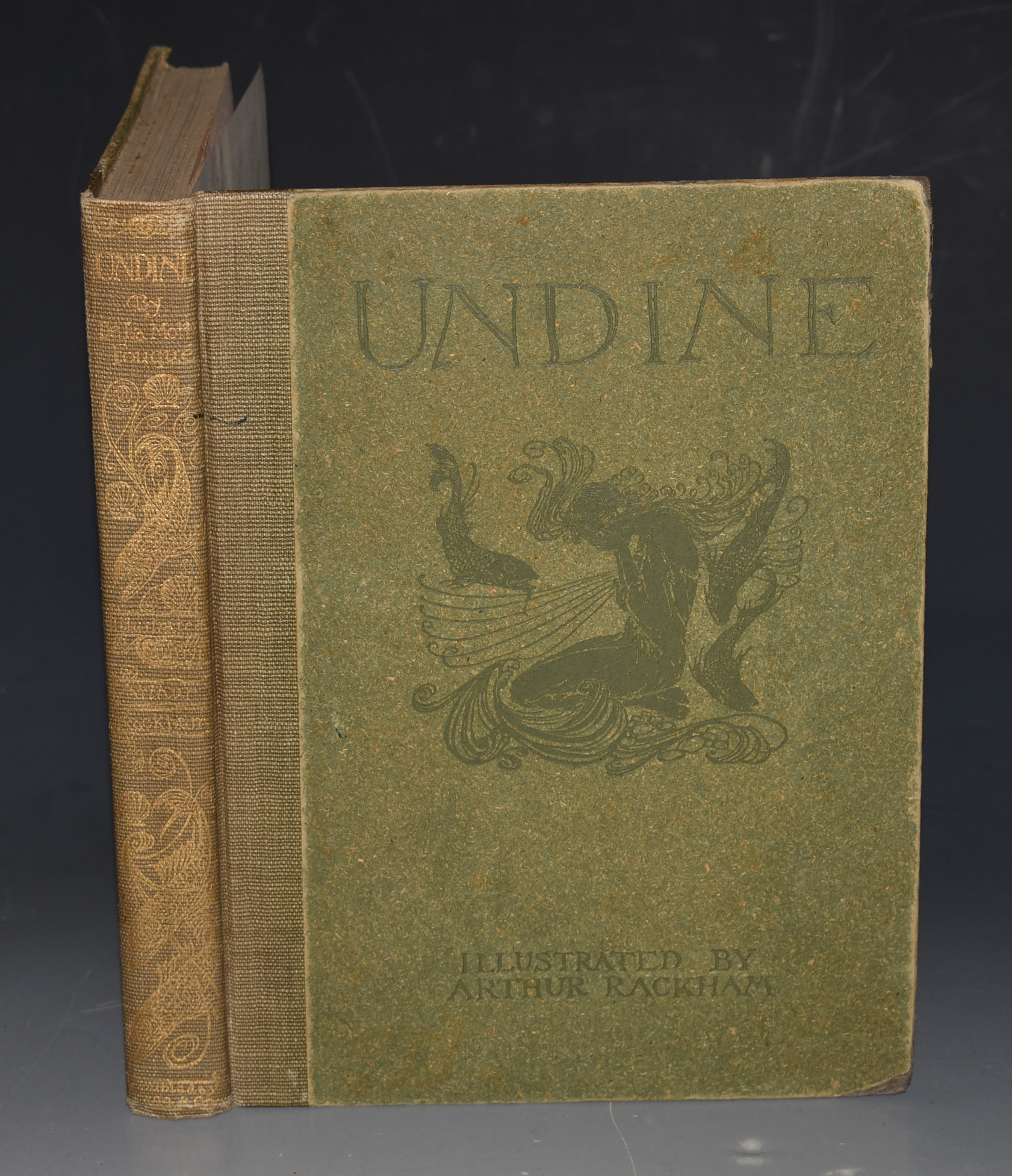 Image for Undine Adapted from the German by W. L. Courtney. And Illustrated by Arthur Rackham.