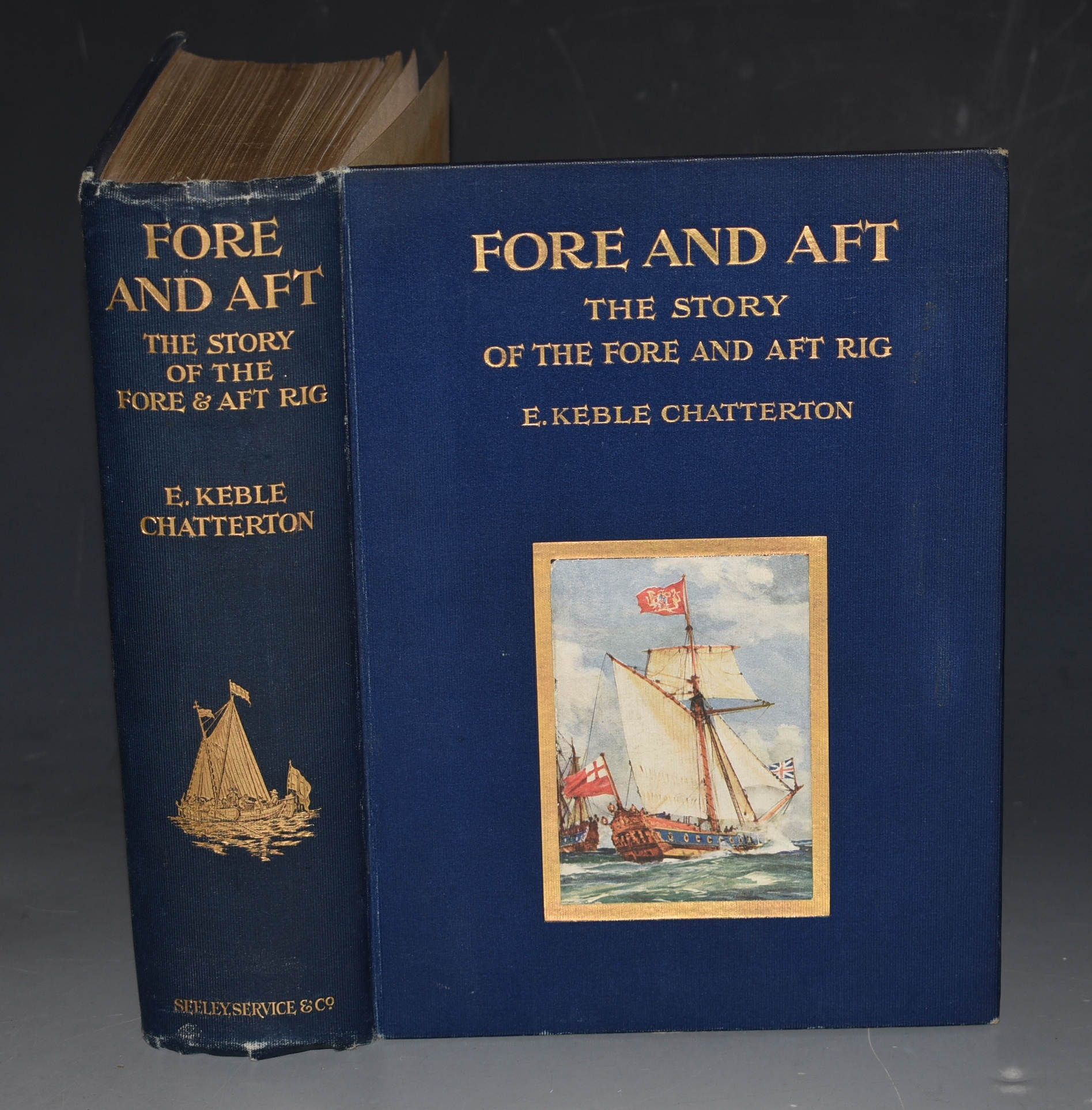Image for Fore and Aft. The Story of the Fore & Aft Rig from the earliest times to the present day.
