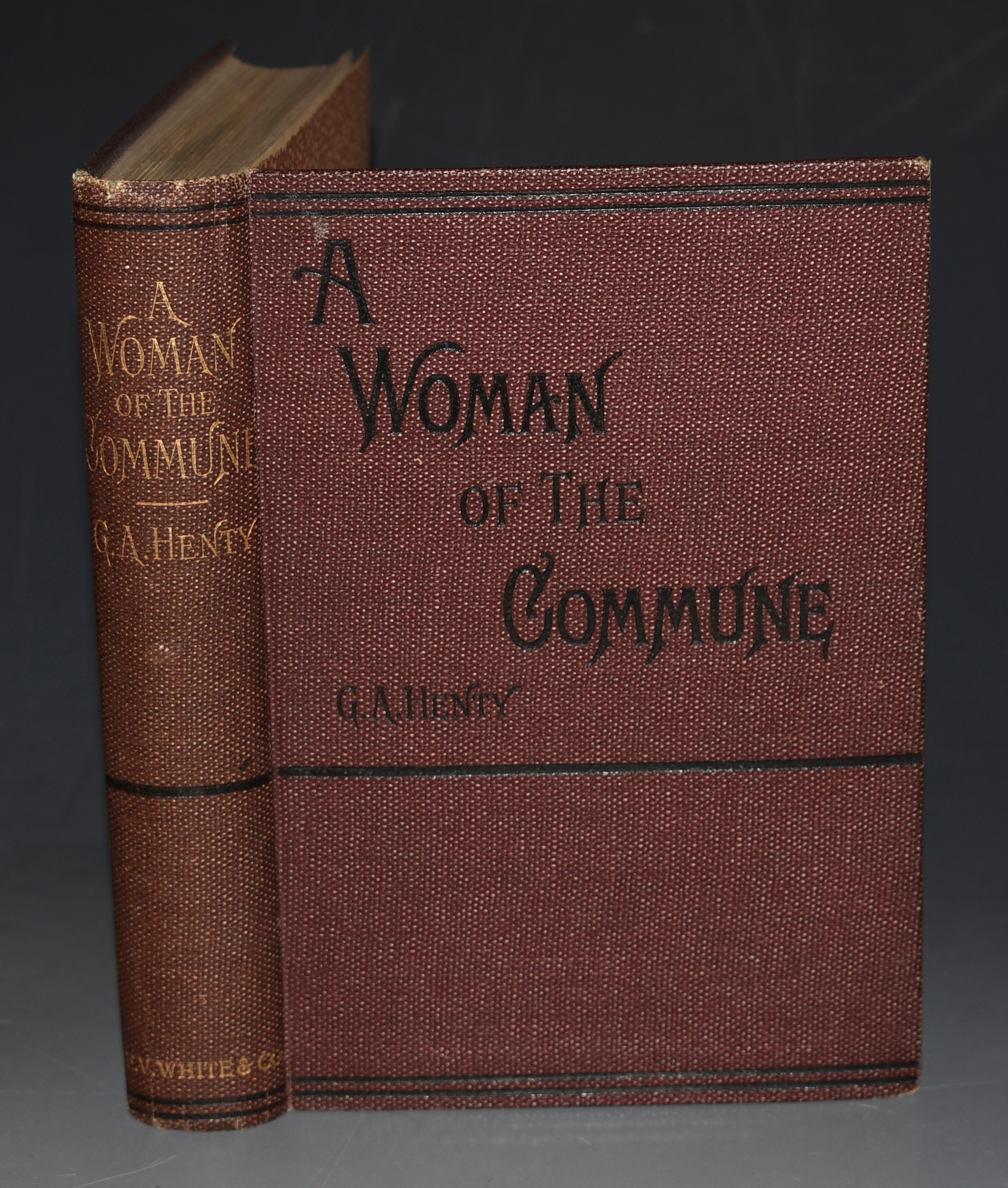 Image for A Woman of the Commune. A Tale of Two Sieges of Paris.