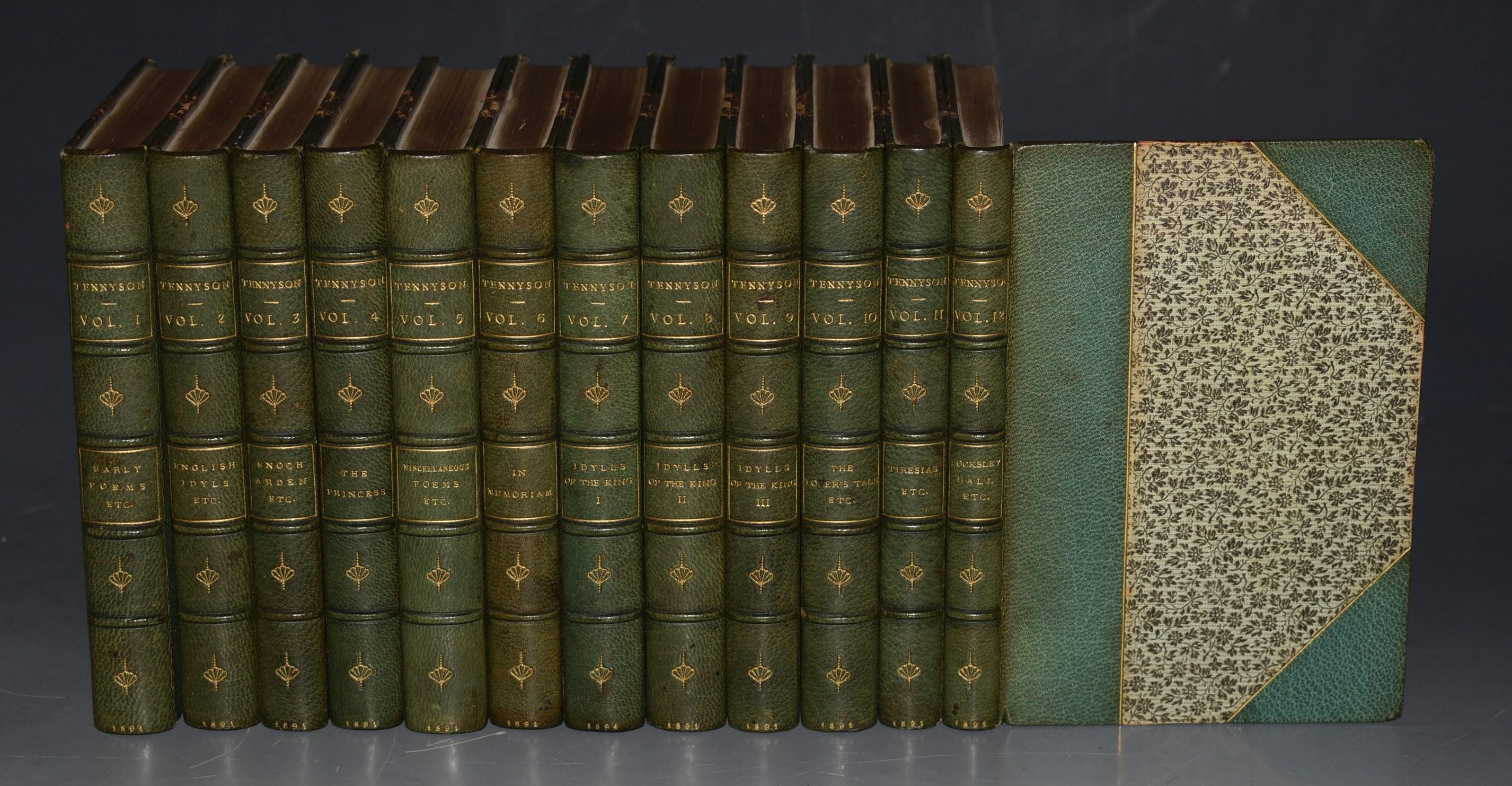 Image for The Works of Alfred Lord Tennyson. In Twelve Volumes. Pocket Edition.