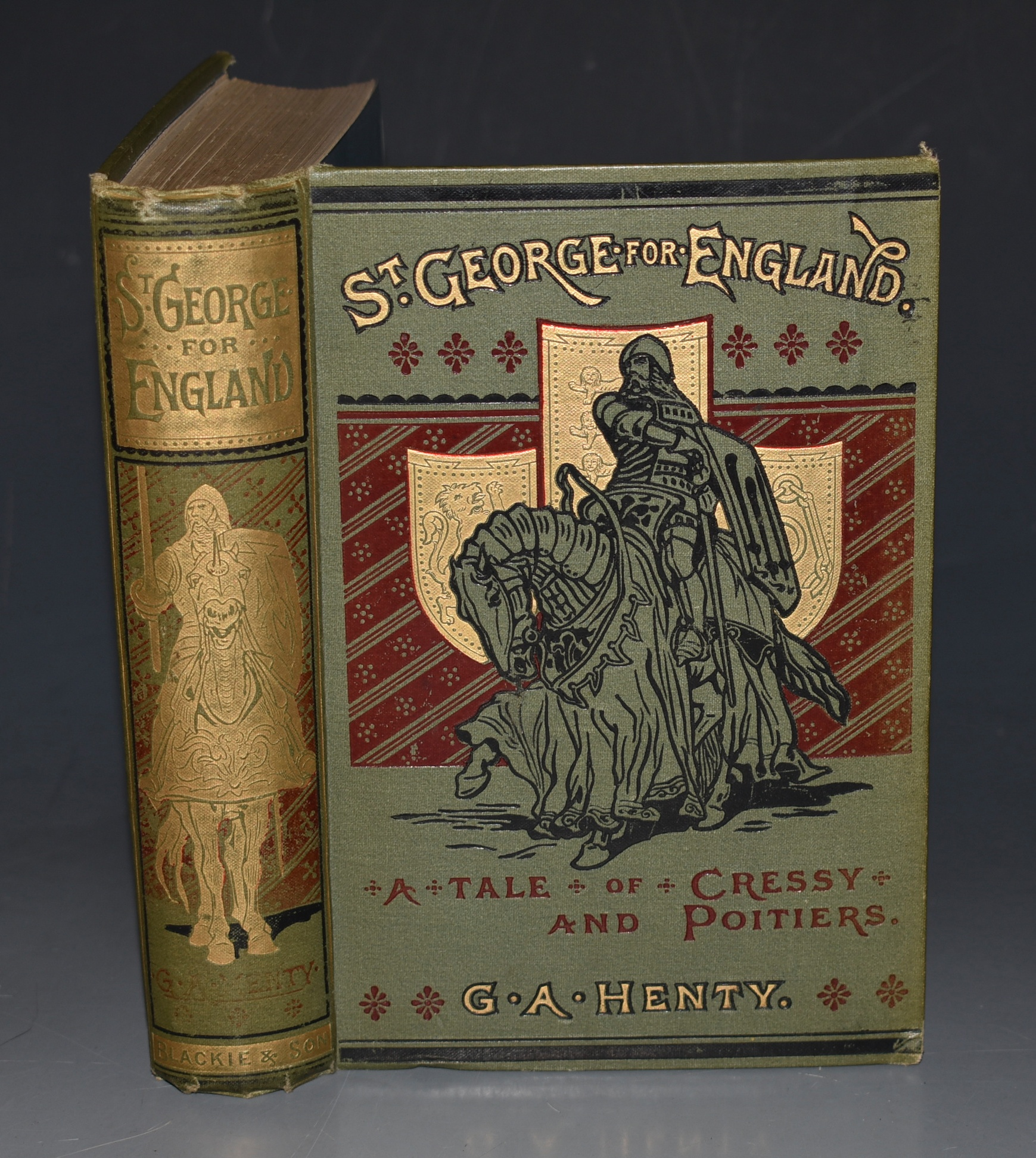 Image for St. George for England. A Tale of Cressy and Poitiers.