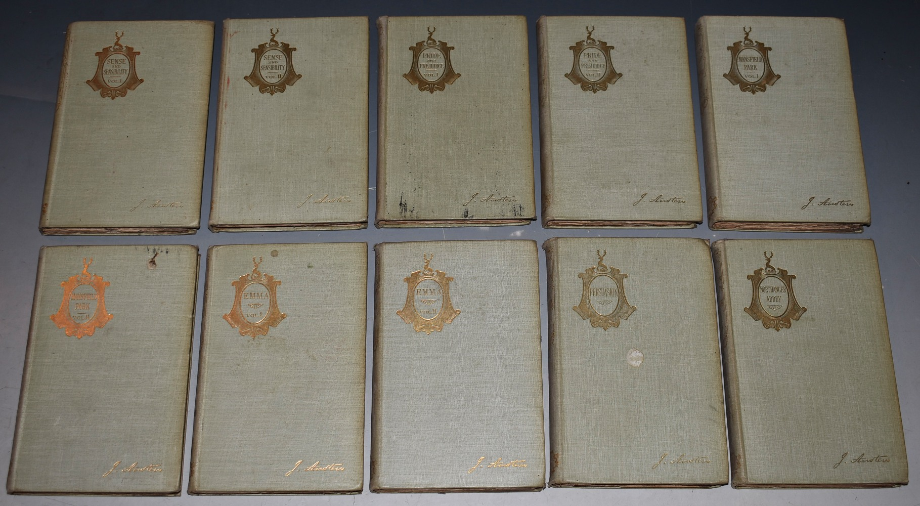 Image for The Novels of Jane Austen In Ten Volumes. Illustrated.