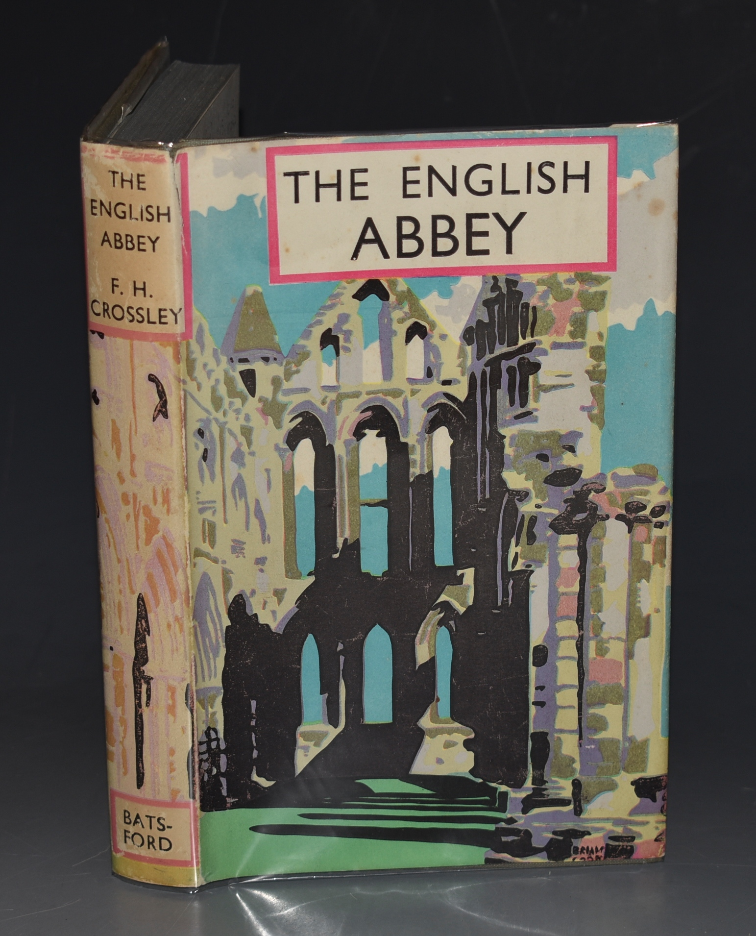 Image for The English Abbey Its Life and Work in the Middle Ages. The British Heritage Series. With Drawings by Brian Cook.