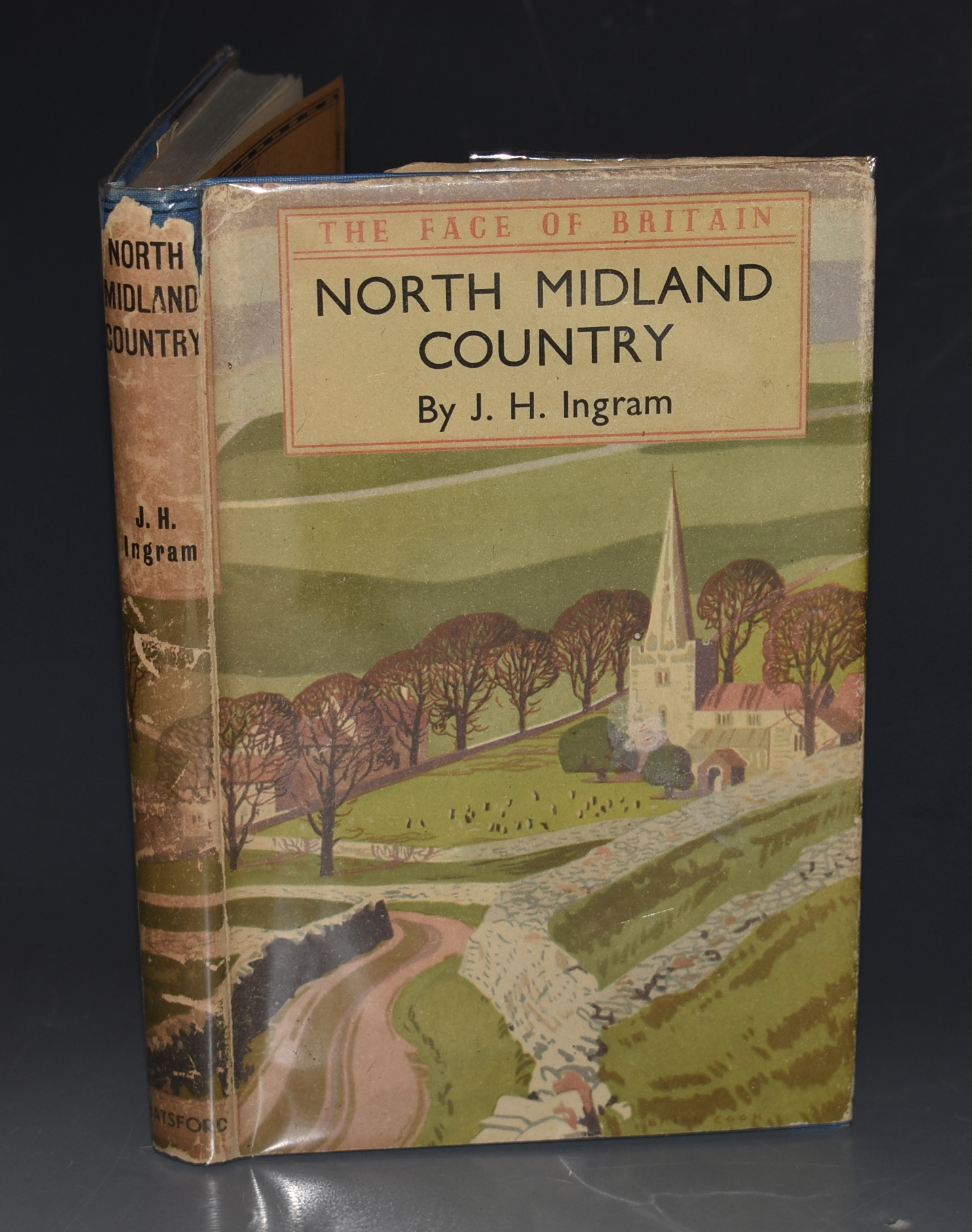 Image for North Midland Country. A Survey of Cheshire, Derbyshire, Leicestershire, Nottinghamshire, and Staffordshire. The Face of Britain