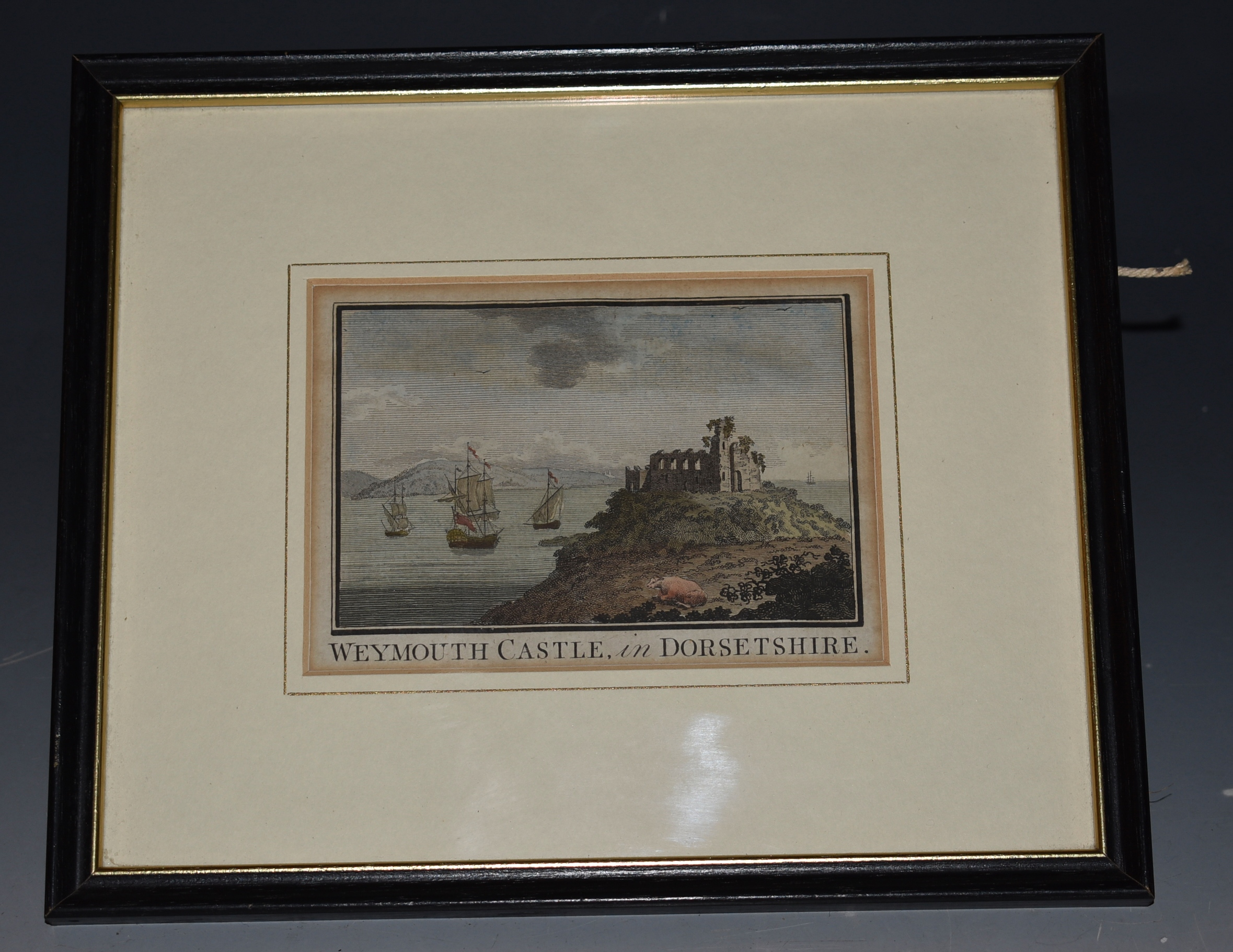"Image for ""Weymouth Castle, in Dorsetshire"" Copper engraving"