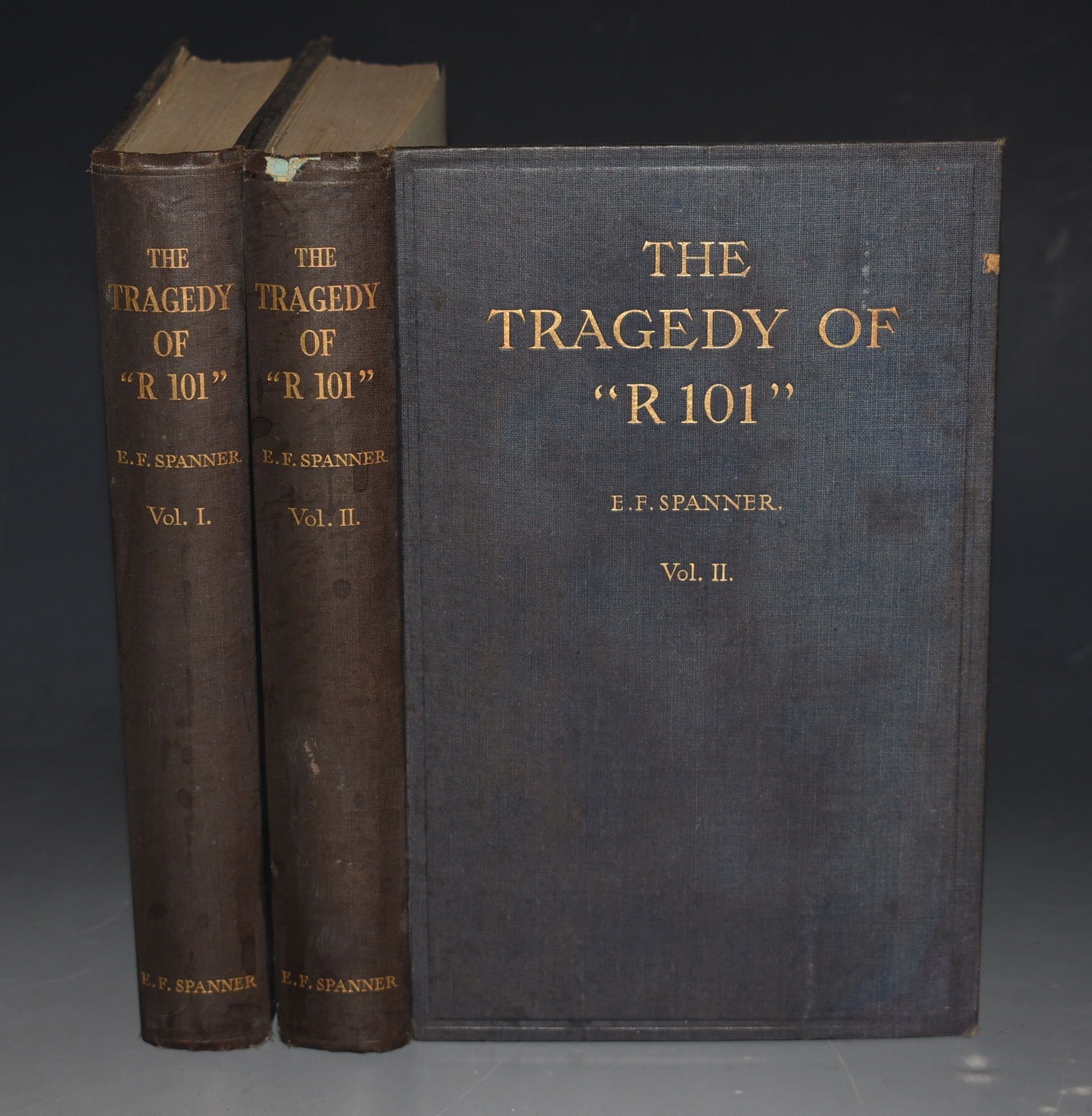 "Image for The Tragedy of ""R 101"" In Two Volumes. Signed Copy + A.L.S."