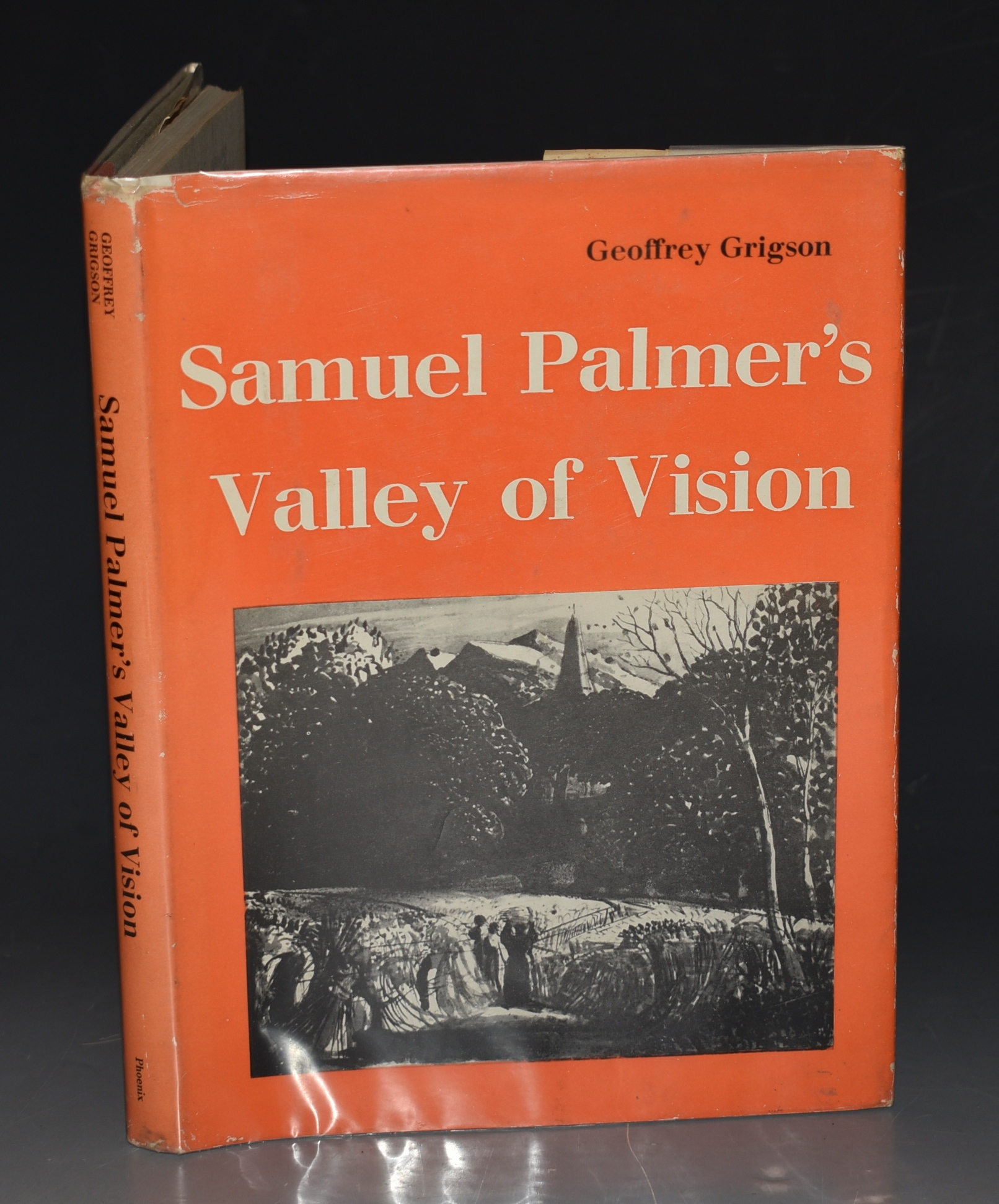 Image for Samuel Palmer's Valley of Vision. Forty-Eight Plates, with an introduction and notes by Geoffrey Grigson, and a Selection of Palmer's Writings.