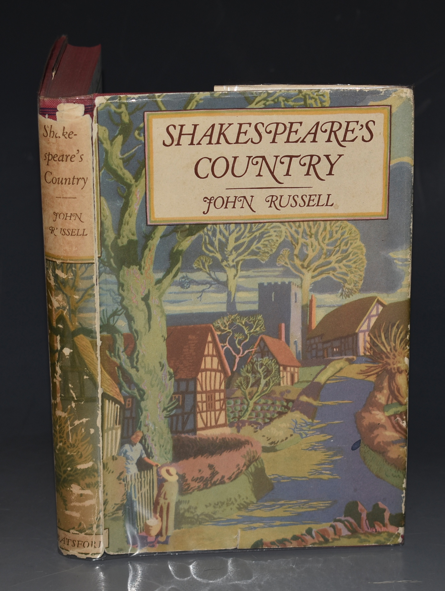 Image for Shakespeare's Country Its Life and Work in the Middle Ages. The British Heritage Series. With Drawings by Brian Cook.