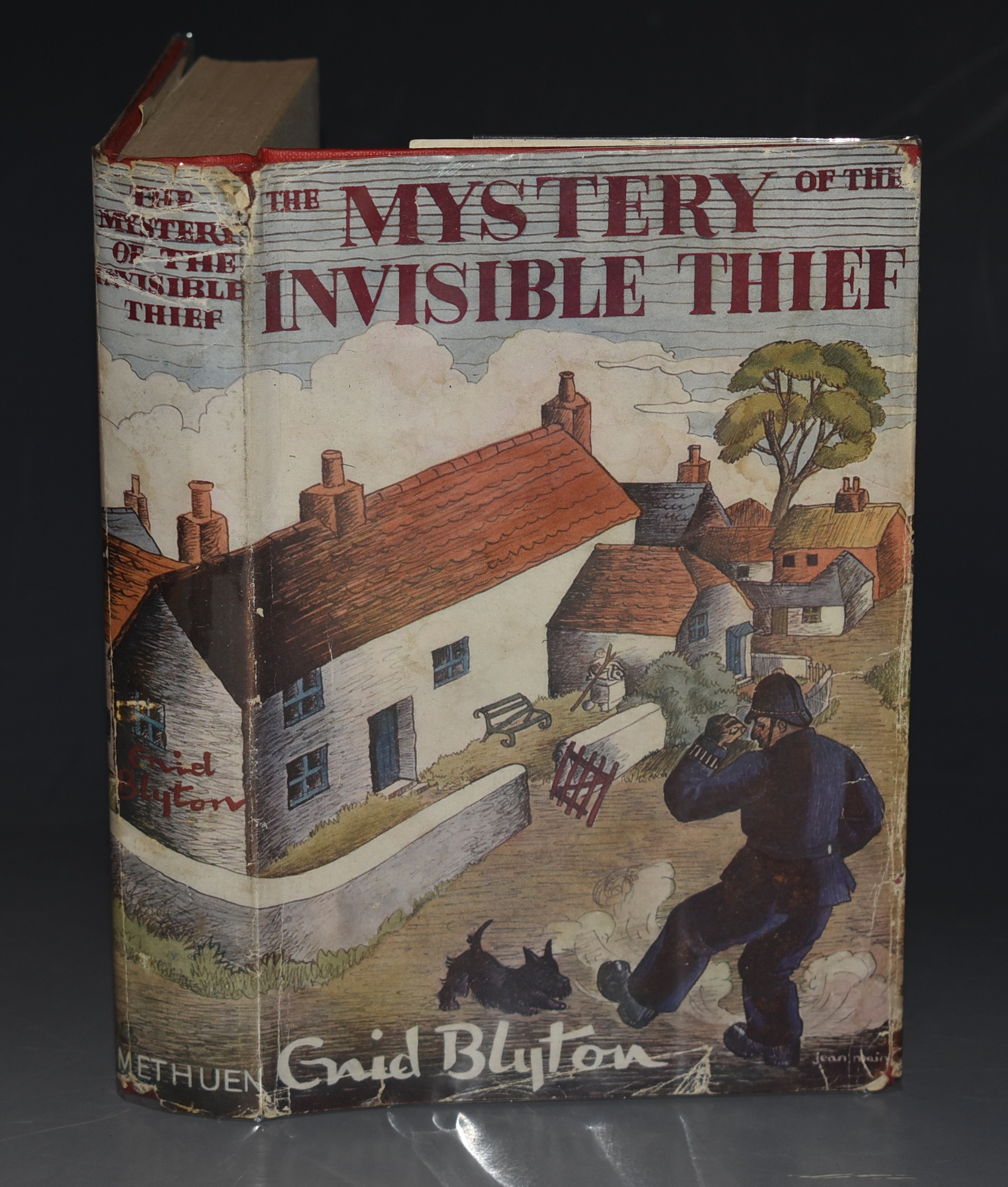 Image for The Mystery of the Invisible Thief. Being the Eighth Adventure of the Five Find-Outers and Dog. With Illustrations by Treyer Evans.