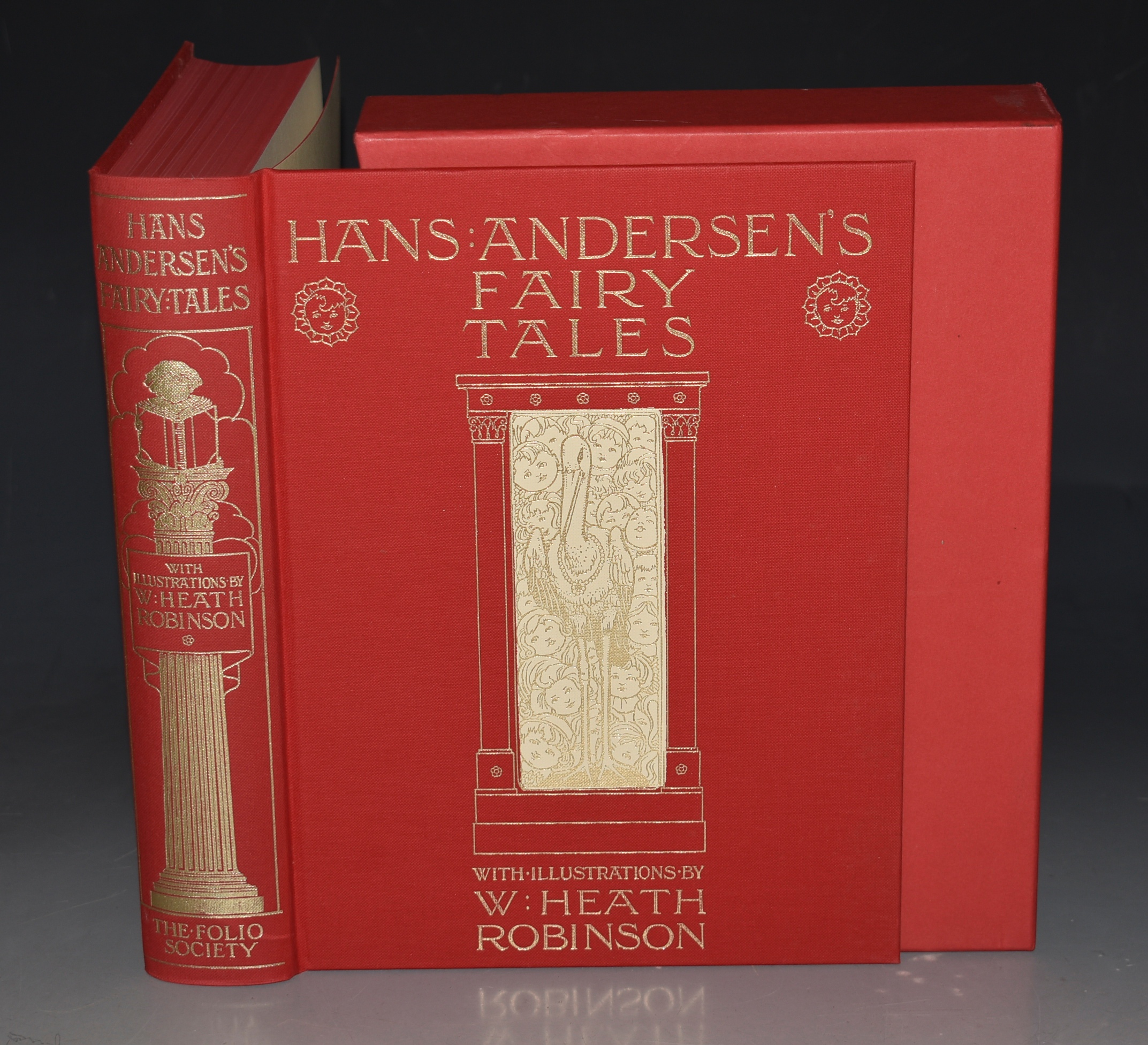 Image for Hans Andersen's Fairy Tales. Illustrated by W. HEATH ROBINSON.