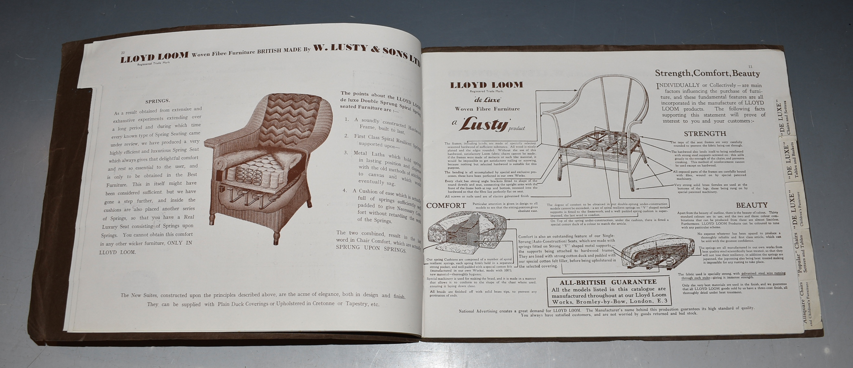 Image for Catalogue of Lloyd Loom Woven Fibre Furniture