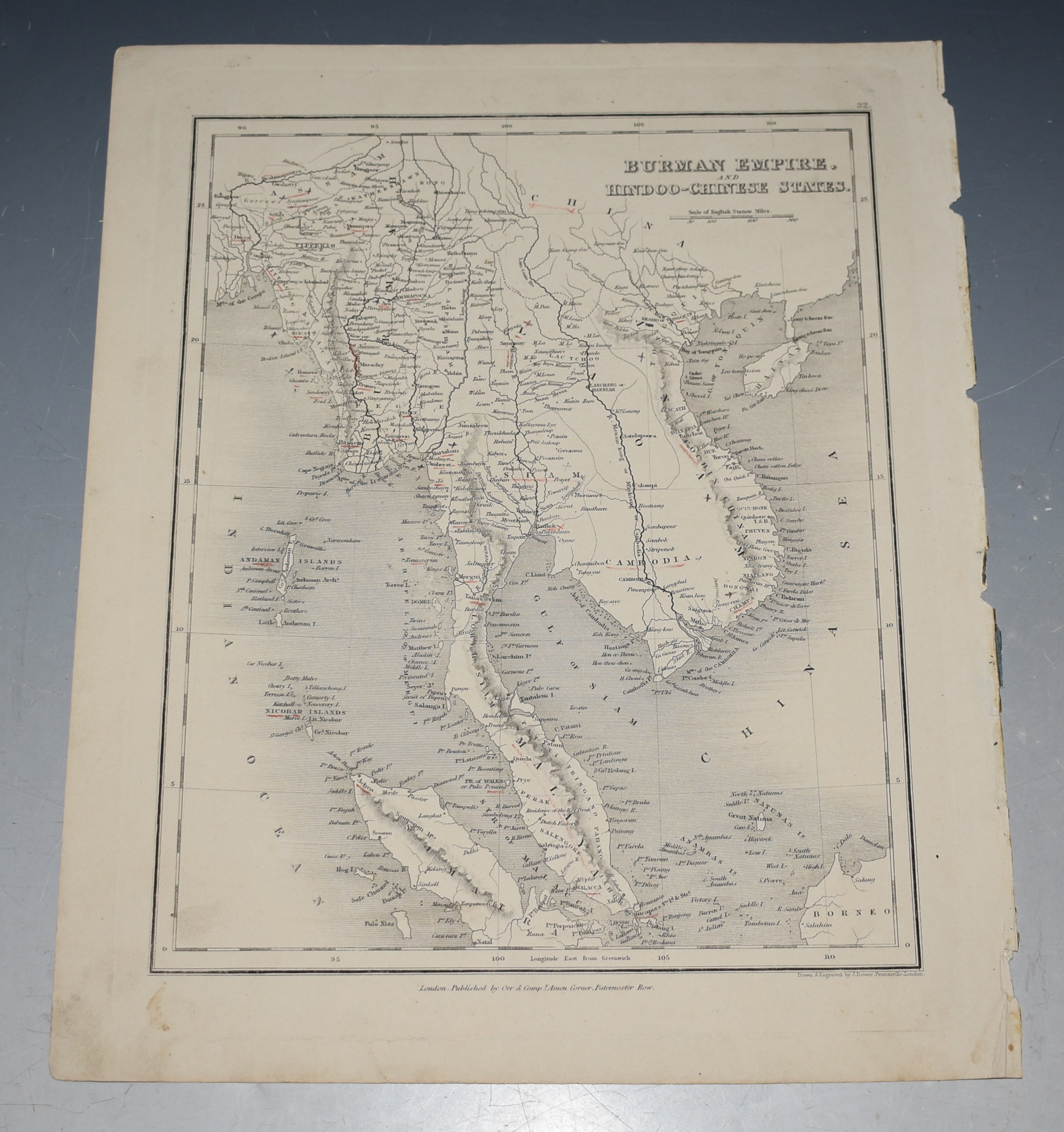 Image for BURMAN EMPIRE and HINDOO-CHINESE STATES.