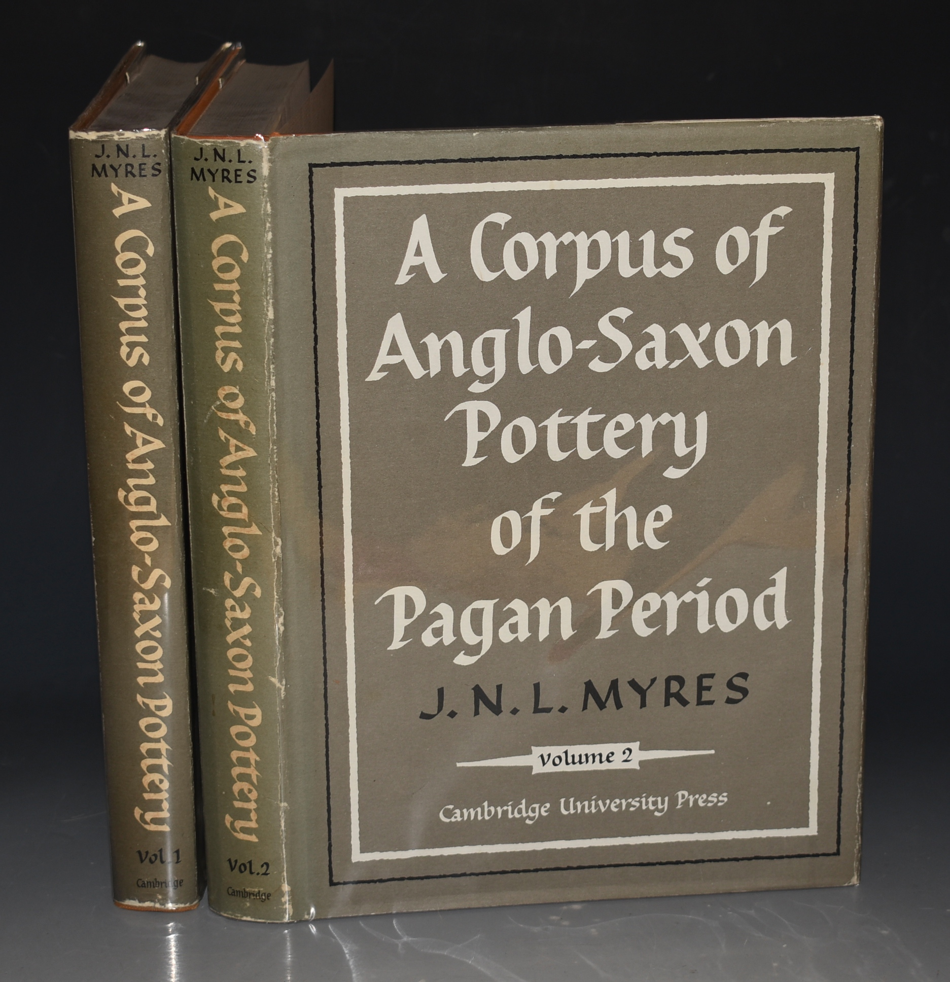 Image for A Corpus of Anglo-Saxon Pottery of The Pagan Period. In Two Volumes. Gulbenkian Archaeological Series.