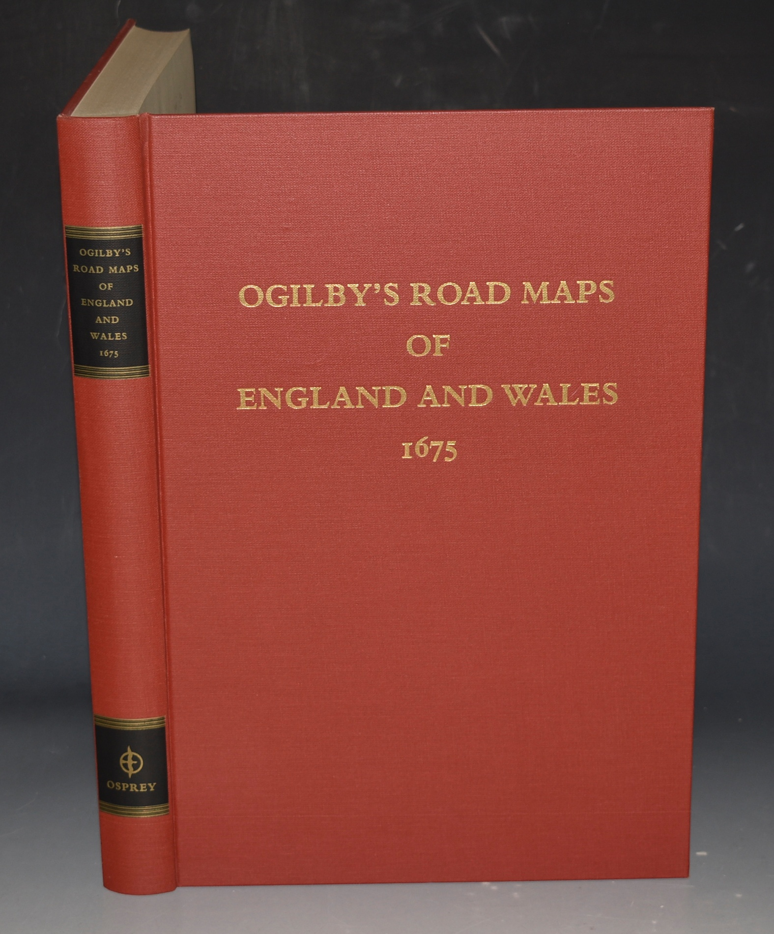 "Image for Road Maps of England and Wales. From Ogilby's ""Britannia"", 1675."