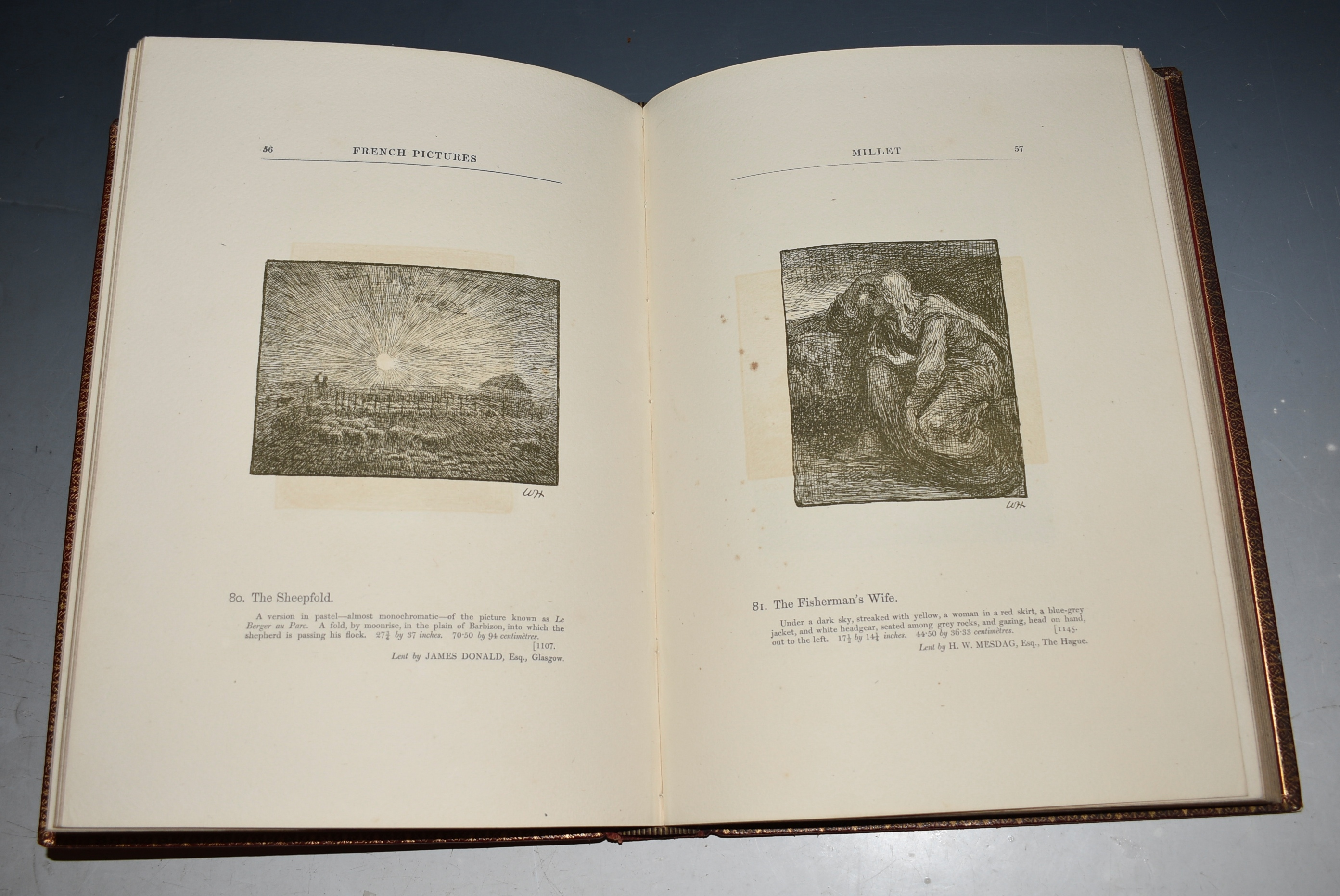 Image for Memorial Catalogue of The French and Dutch Loan Collection, Edinburgh International Exhibition 1886. Note and Descriptions by William Ernest Henley. The Etchings and Sketches by William Hole, and Philip Zilcken, and Bernardus Joh. Blommers. LIMITED NUMBERED EDITION.