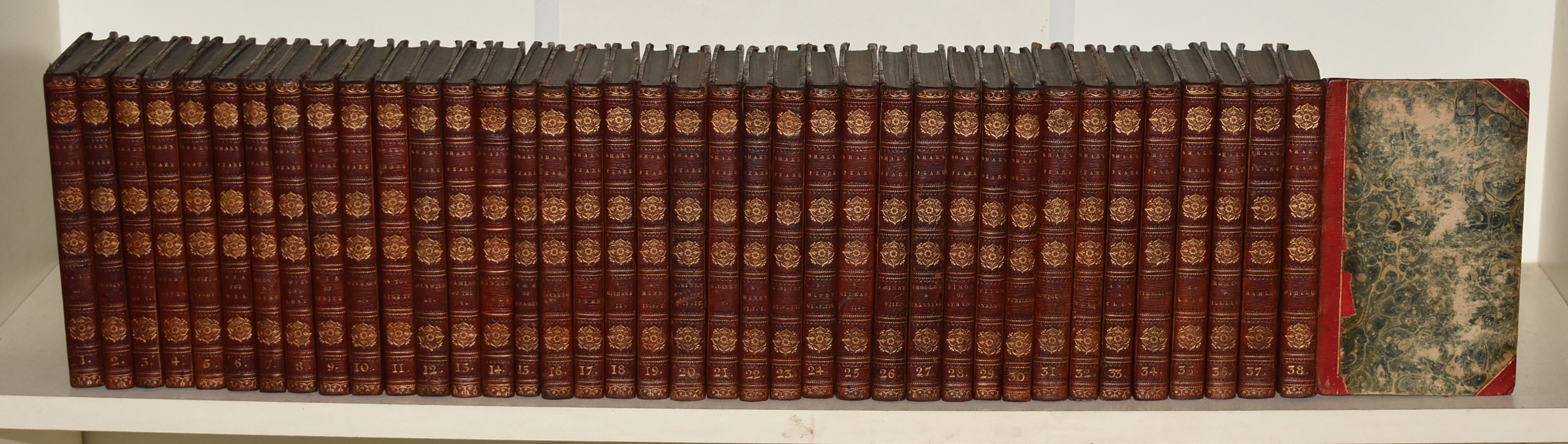 Image for The Plays of William Shakespeare, Complete In 38 Volumes. Bell's Edition.