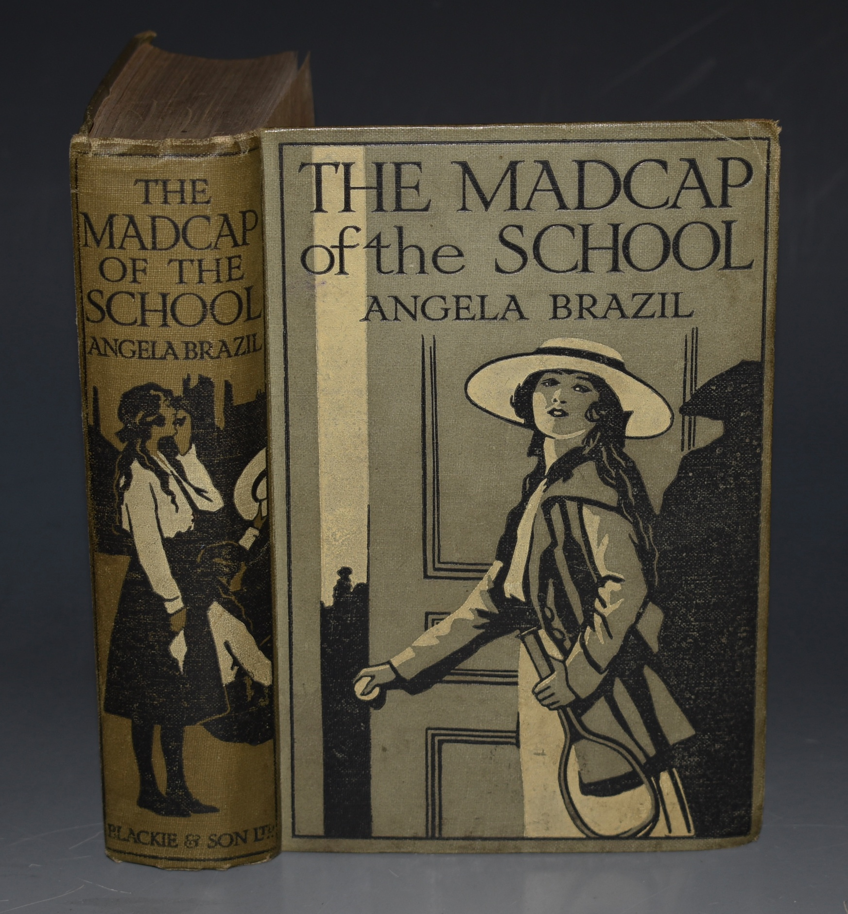 Image for The Madcap of the School. Illustrated by Balliol Salmon.