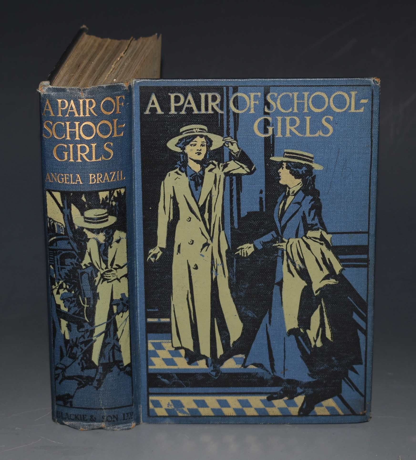 Image for A Pair of Schoolgirls Illustrated by John Campbell.