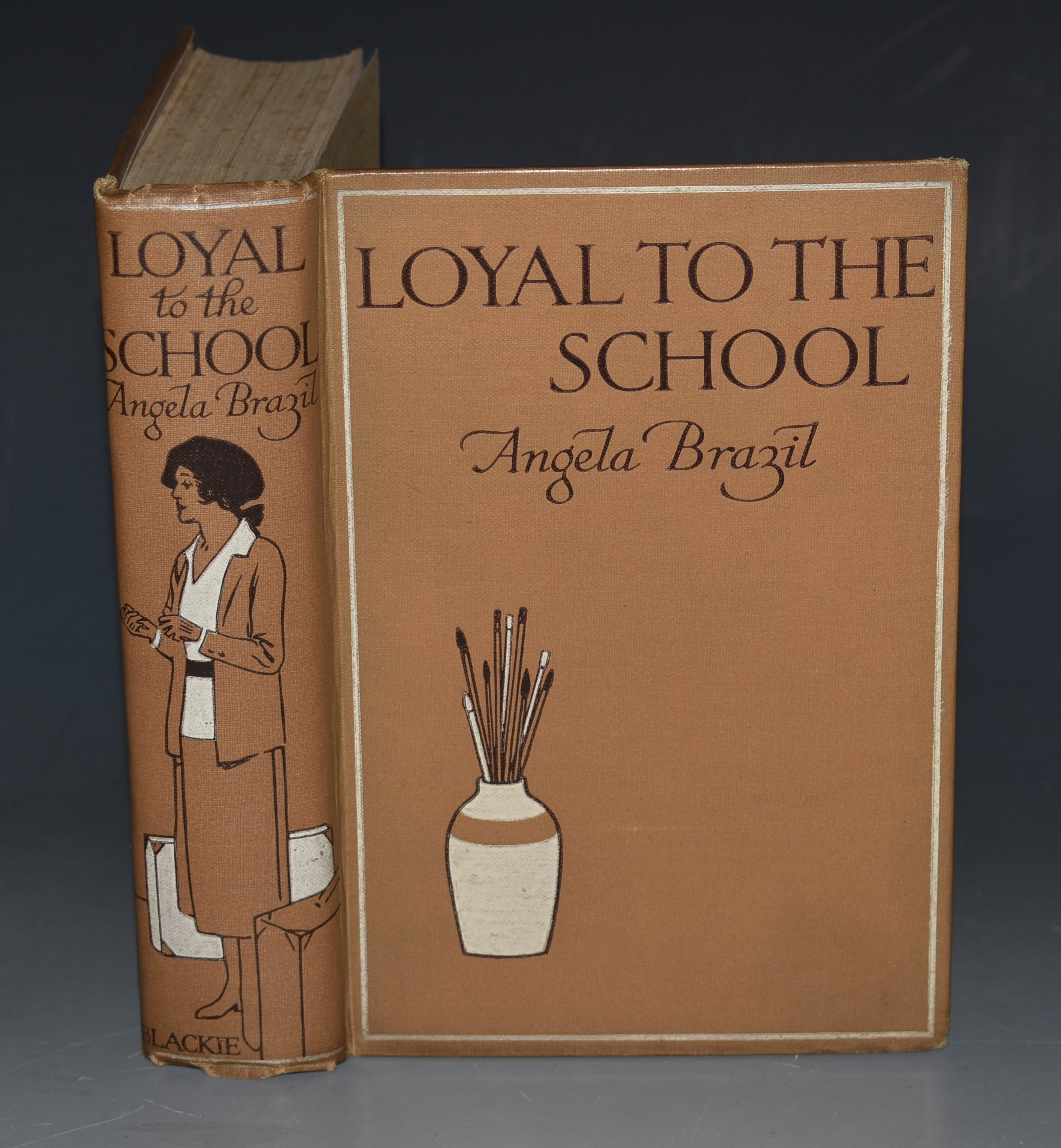 Image for Loyal to the School Illustrated by Treyer Evans .