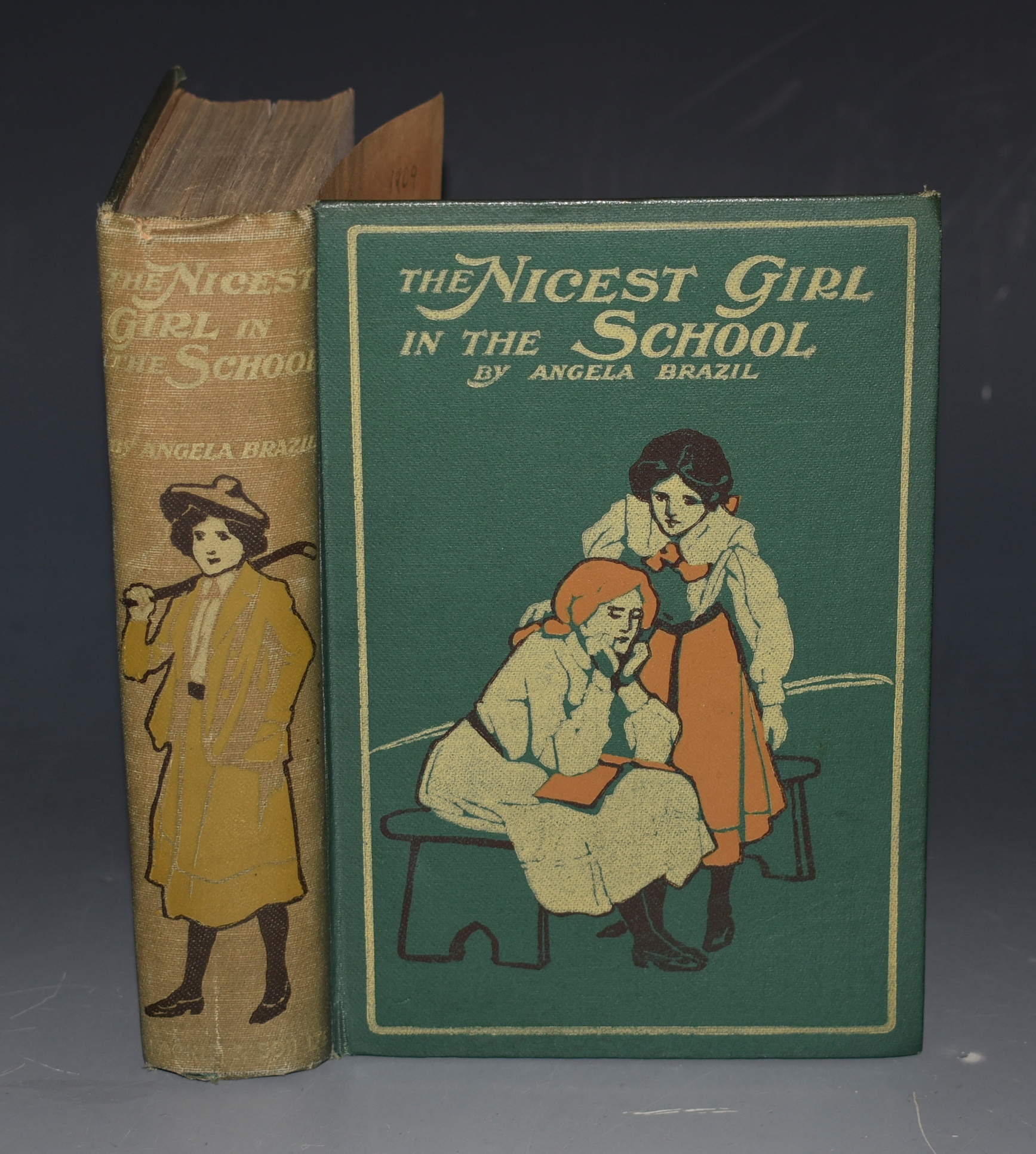Image for The Nicest Girl in the School. Illustrated by Arthur A. Dixon.