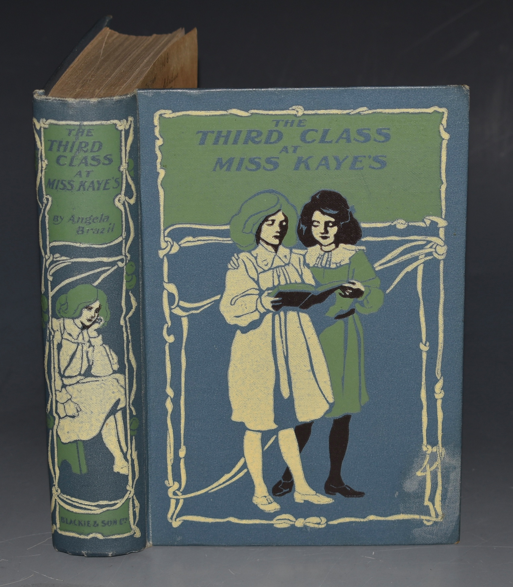 Image for The Third Class at Miss Kaye's. Illustrated by Arthur A. Dixon.