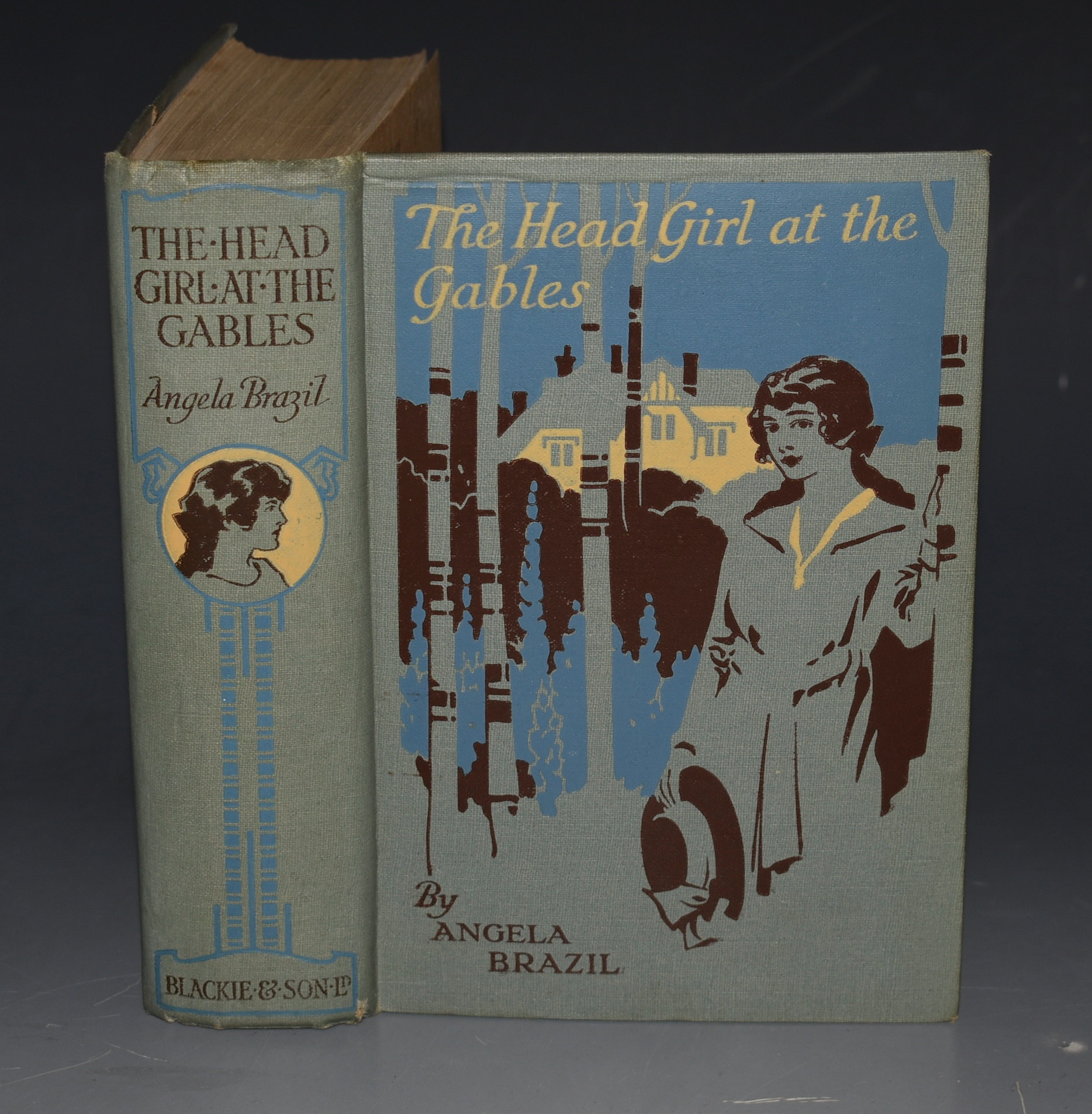 Image for The Head Girl at The Gables Illustrated by Balliol Salmon.