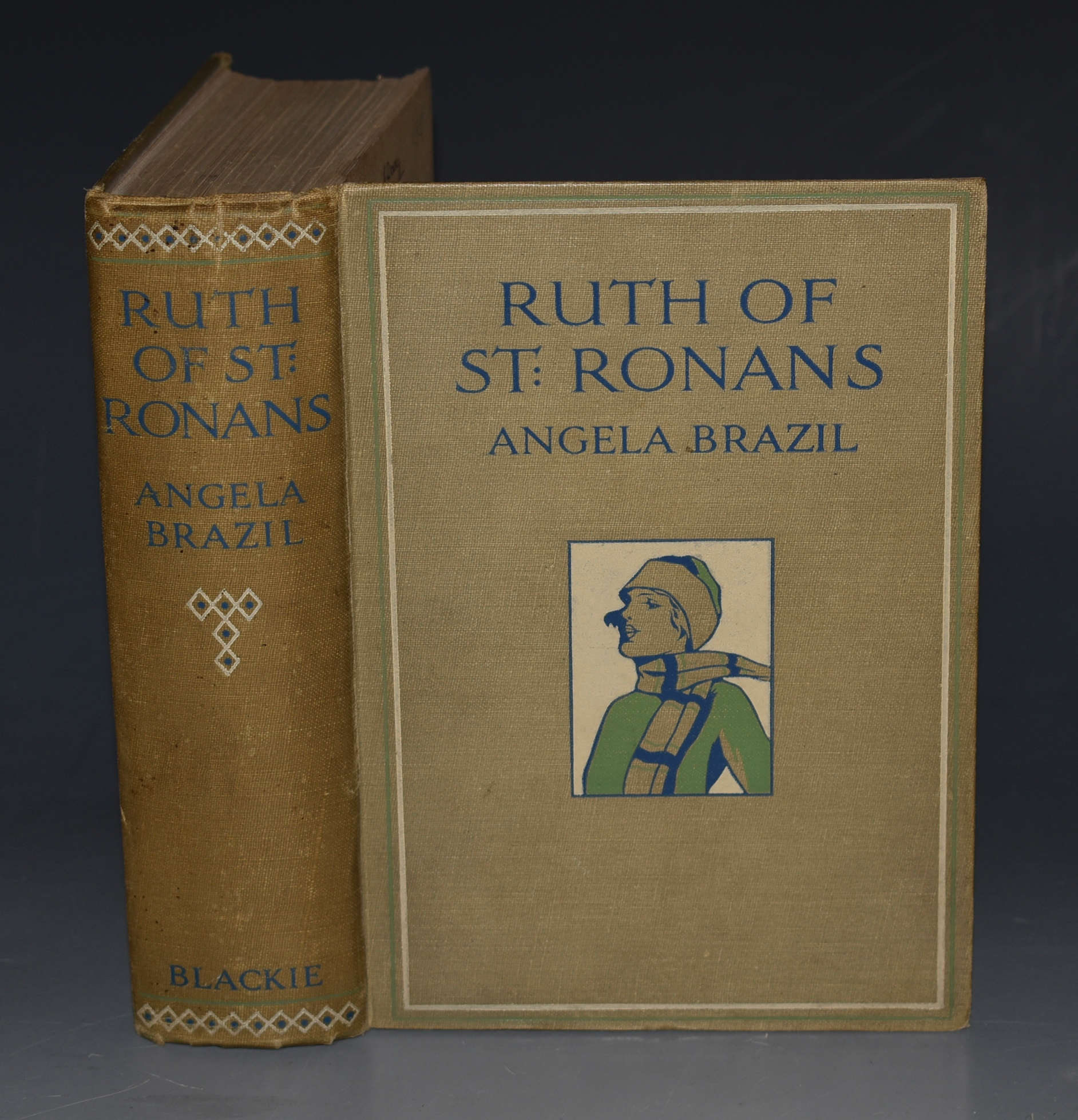 Image for Ruth of St. Ronan's Illustrated by Frank Oldham.