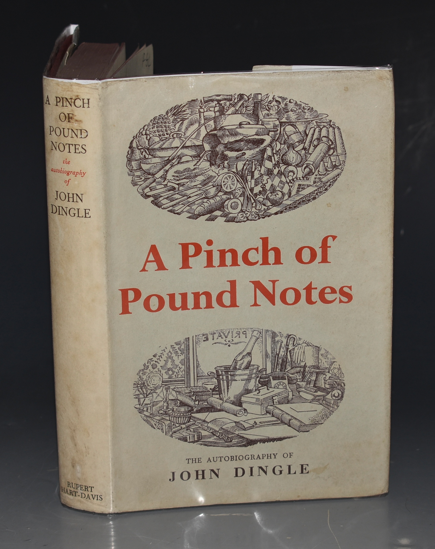Image for A Pinch of Pound Notes SIGNED COPY.