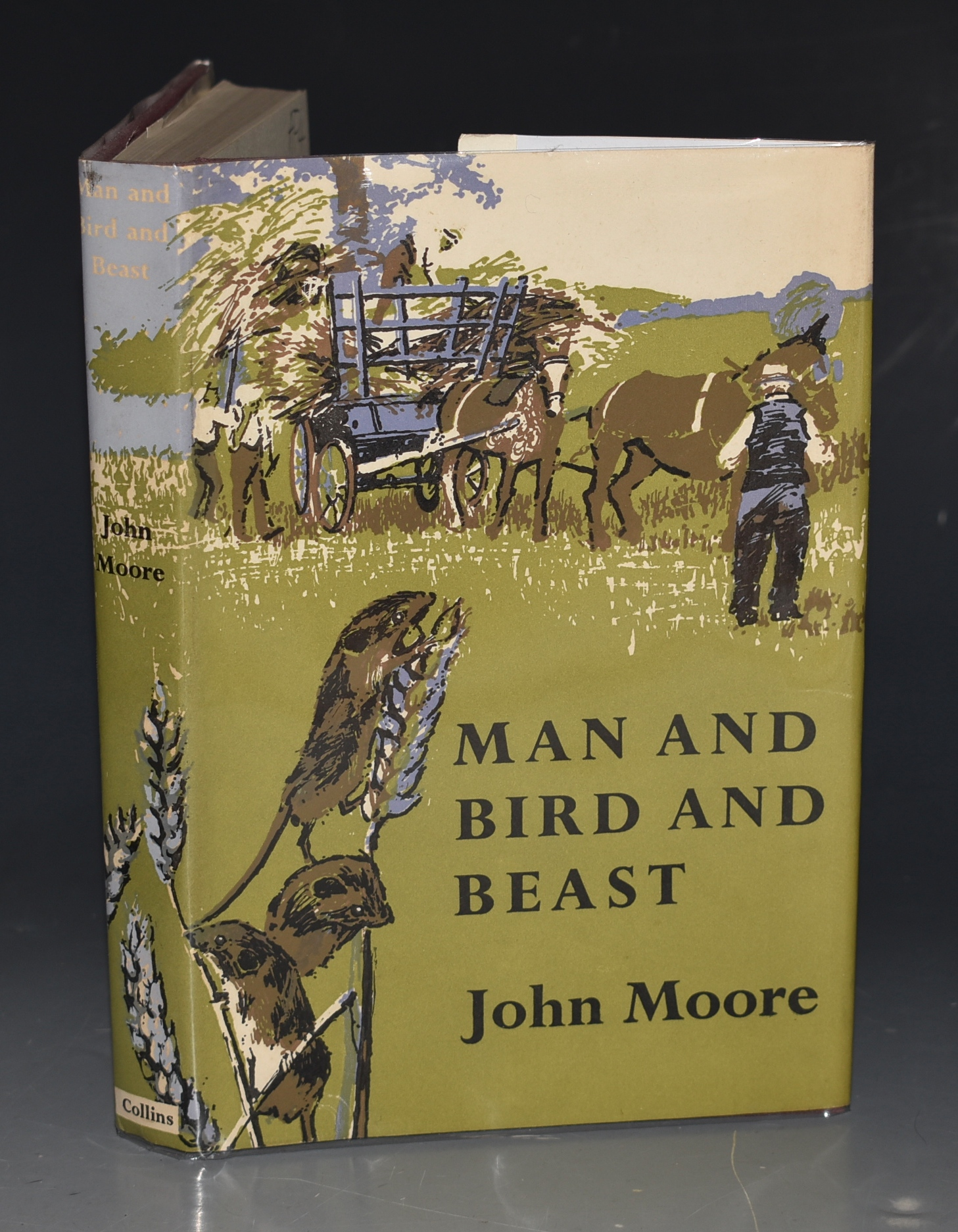 Image for Man and Bird and Beast. More country Contentment's. SIGNED COPY.