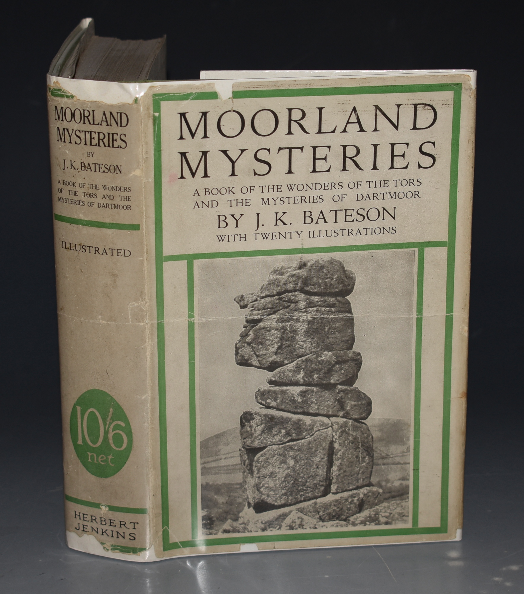 Image for Moorland Mysteries With 20 Illustrations from Photographs Taken by C.W. Bateson.