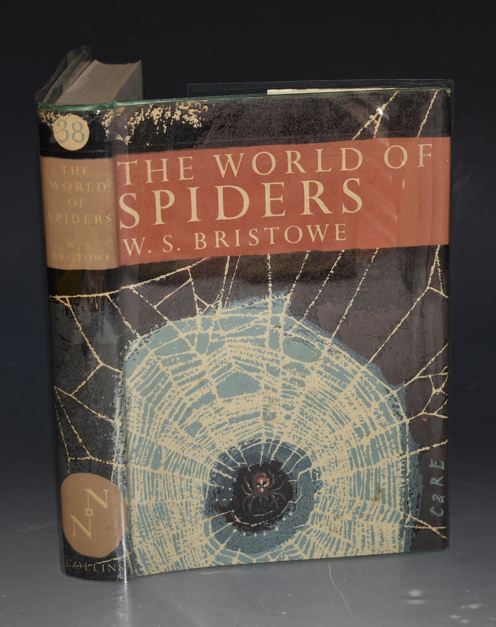 Image for The World of Spiders. the new Naturalist. With 14 plates of photographs, 4 in colour, and drawings by Arthur Smith comprising 22 half tone plates and 116 text figures.