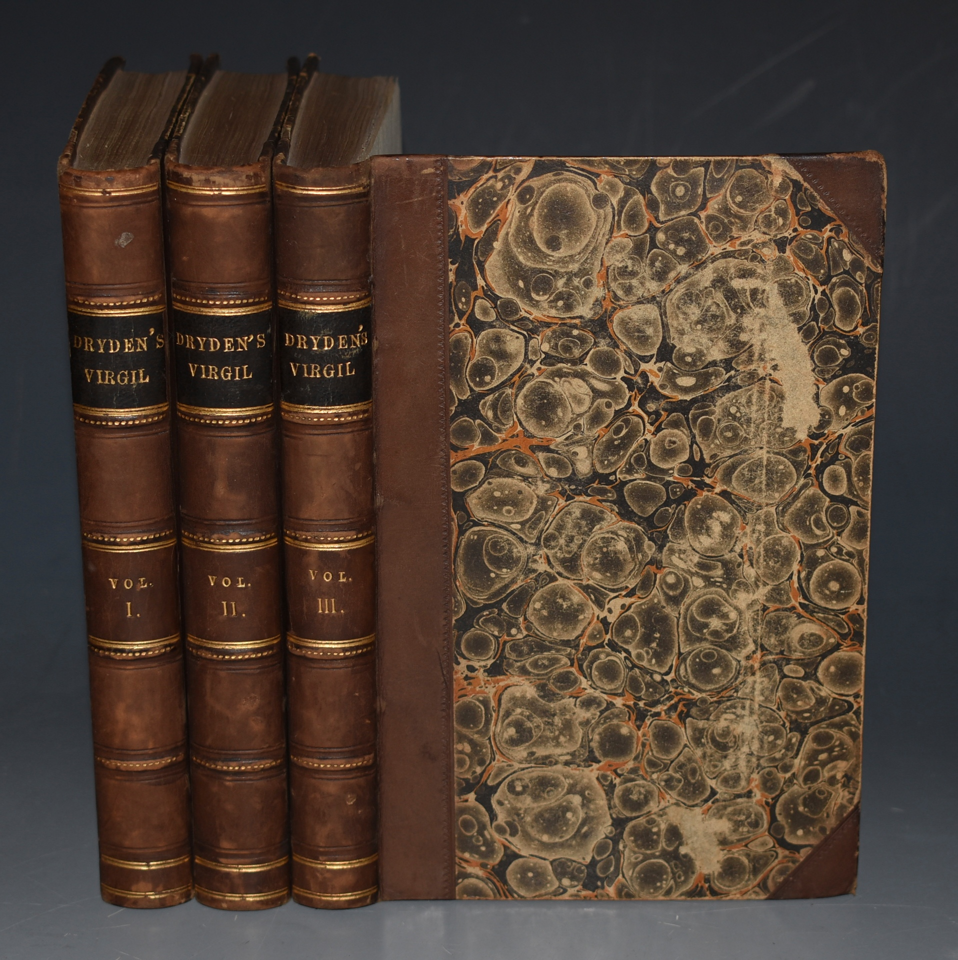 Image for The Works of Virgil: Containing His Pastorals, Georgics, and Aeneis. Translated in to English Verse by Mr Dryden. In Three Volumes. The Third Edition.