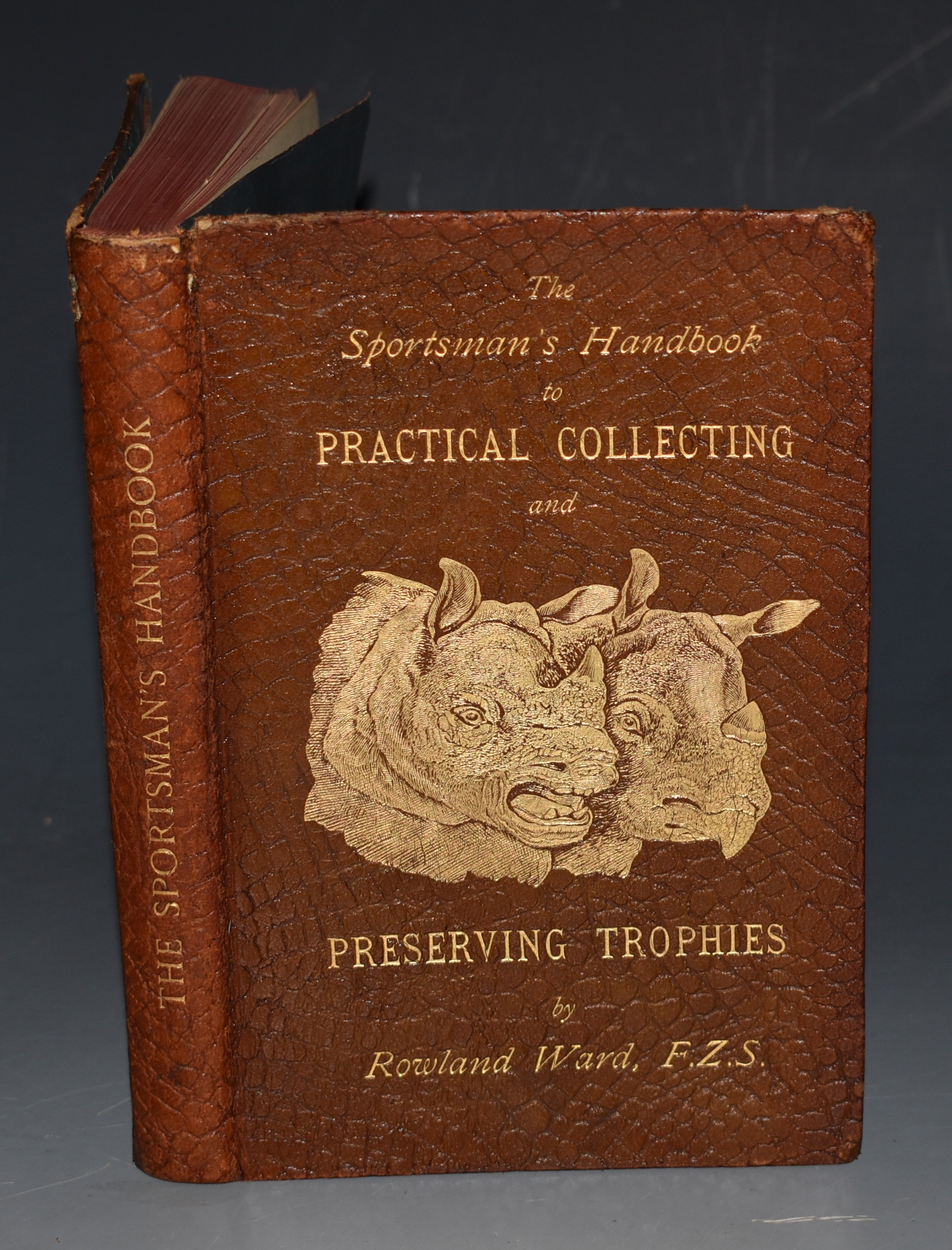 Image for The Sportsman's Handbook, To Practical Collecting and Preserving, and Artistic Setting-Up of Trophies and Specimens. Together with a guide to the Hunting Grounds of The World. Eighth Edition, With Numerous Illustrations.