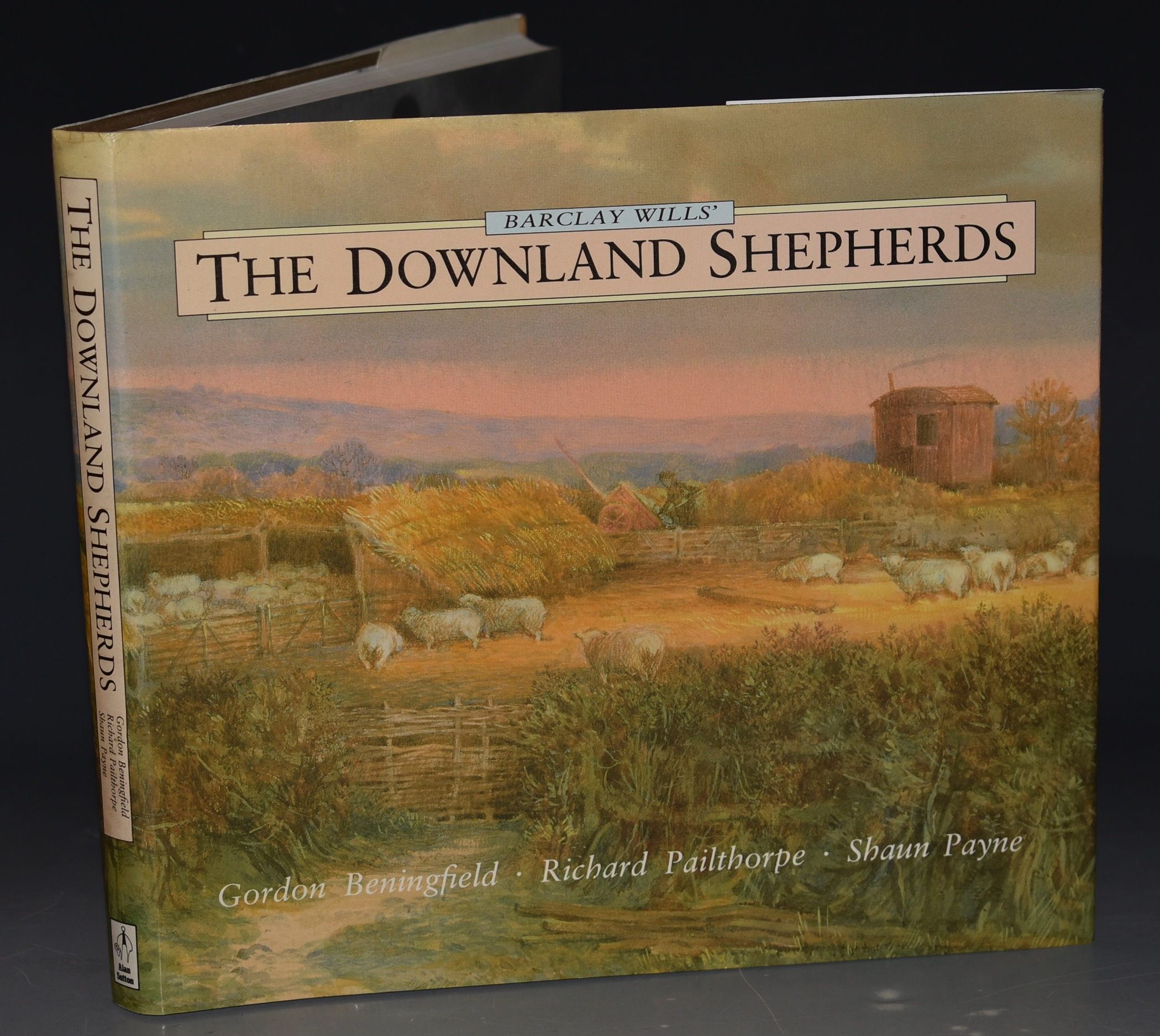 Image for Barclay Wills' The Downland Shepherds. Edited by Shaun Payne and Richard Pailthorpe. Foreword by Bob Copper. SIGNED COPY.