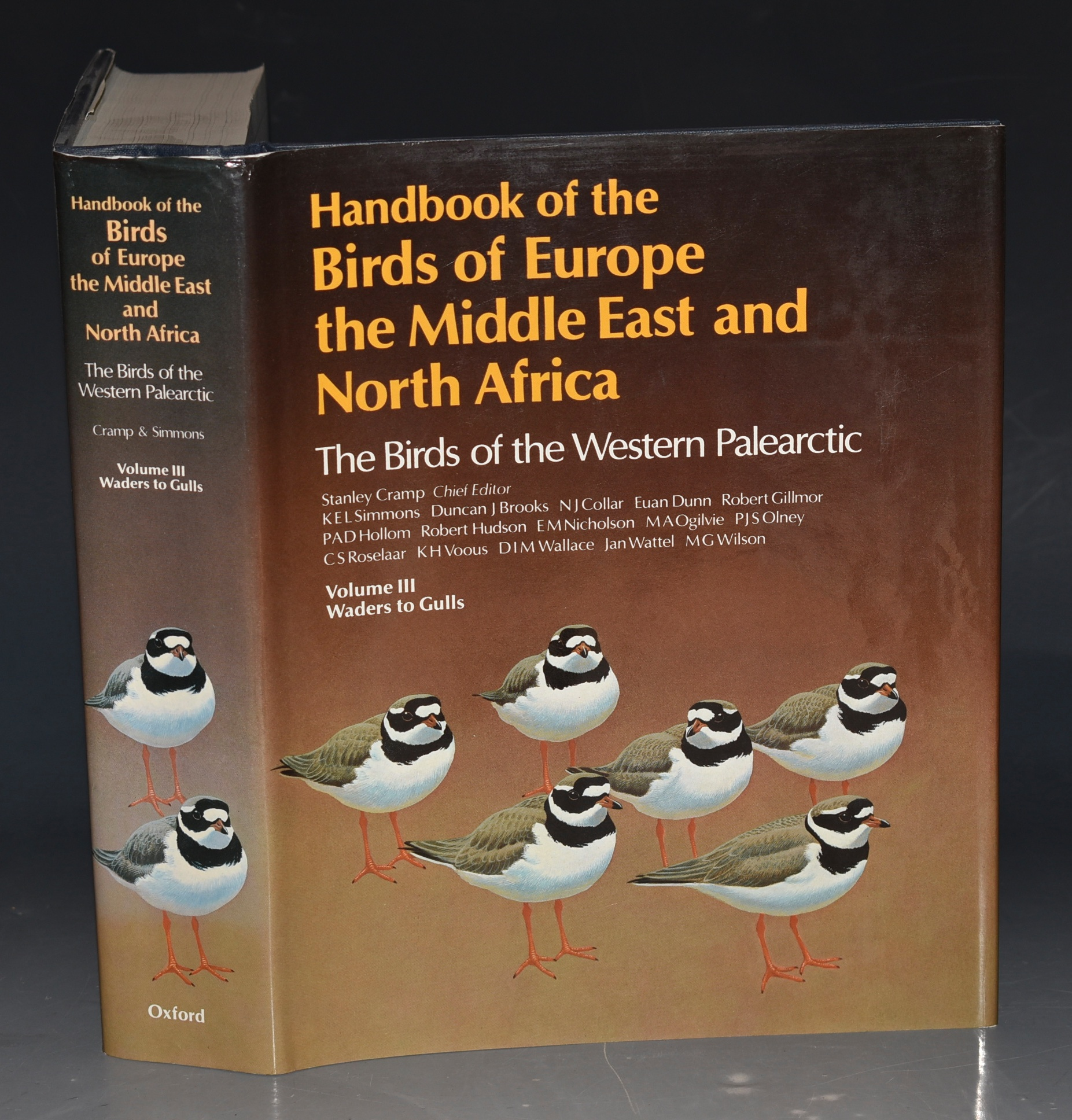 Image for Handbook of the Birds of Europe, the Middle East and North Africa: The Birds of the Western Palearctic: Volume III (3) - Waders to Gulls (complete in itself).