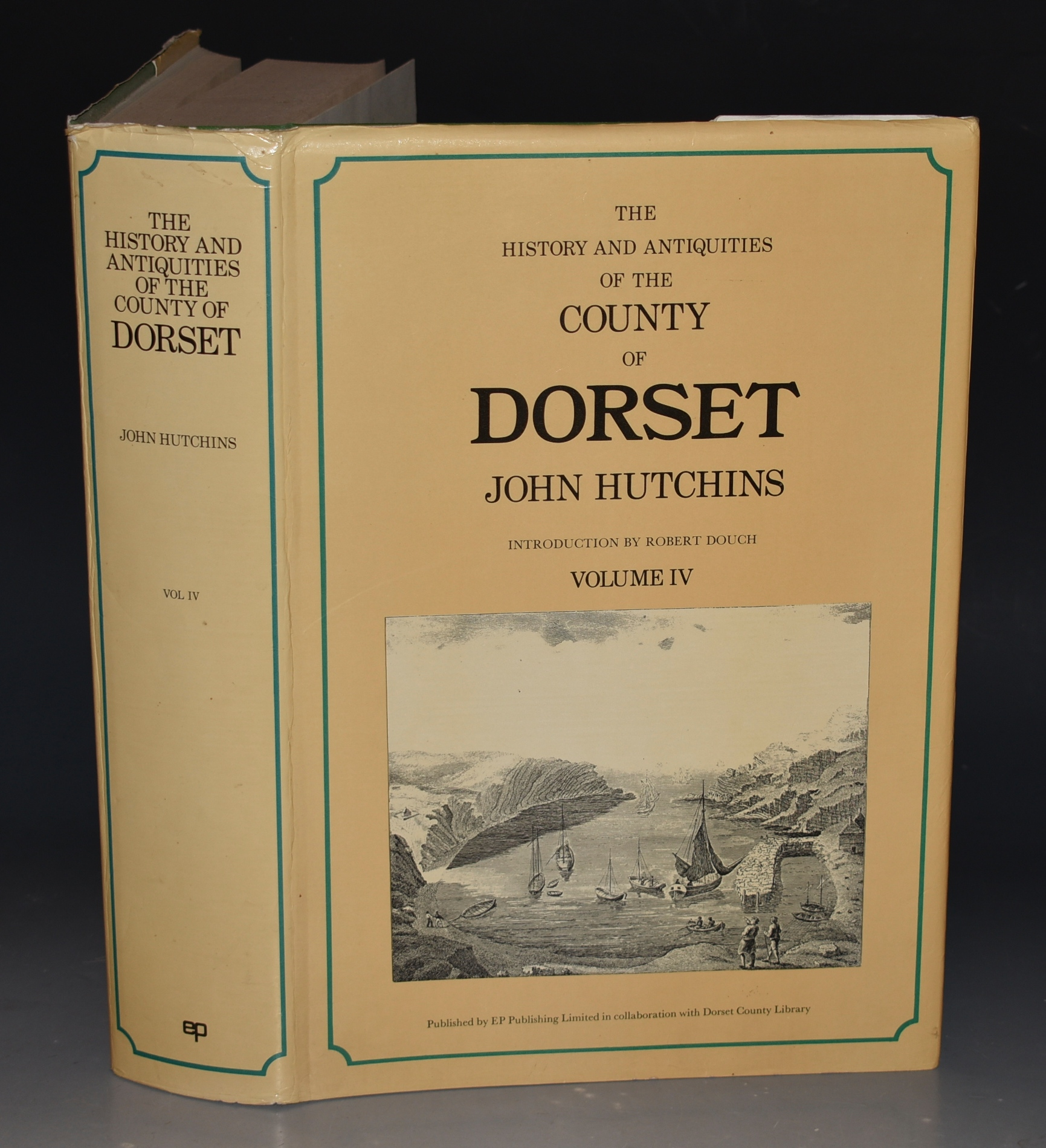 Image for History and Antiquities of the County of Dorsetshire. Volume IV. compiled from the best and most ancient historians, inquisitiones post mortem, and other valuable records and MSS. in the public offices and libraries and in private hands. With a copy of Domesday Book and Inquisitio Gheldi for the County: interspersed with some remarkable particulars of natural history; views of antiquities, state of the nobility and gentry, &c. Reprint of Third Edition by W.Shipp and J.W.Hodson.