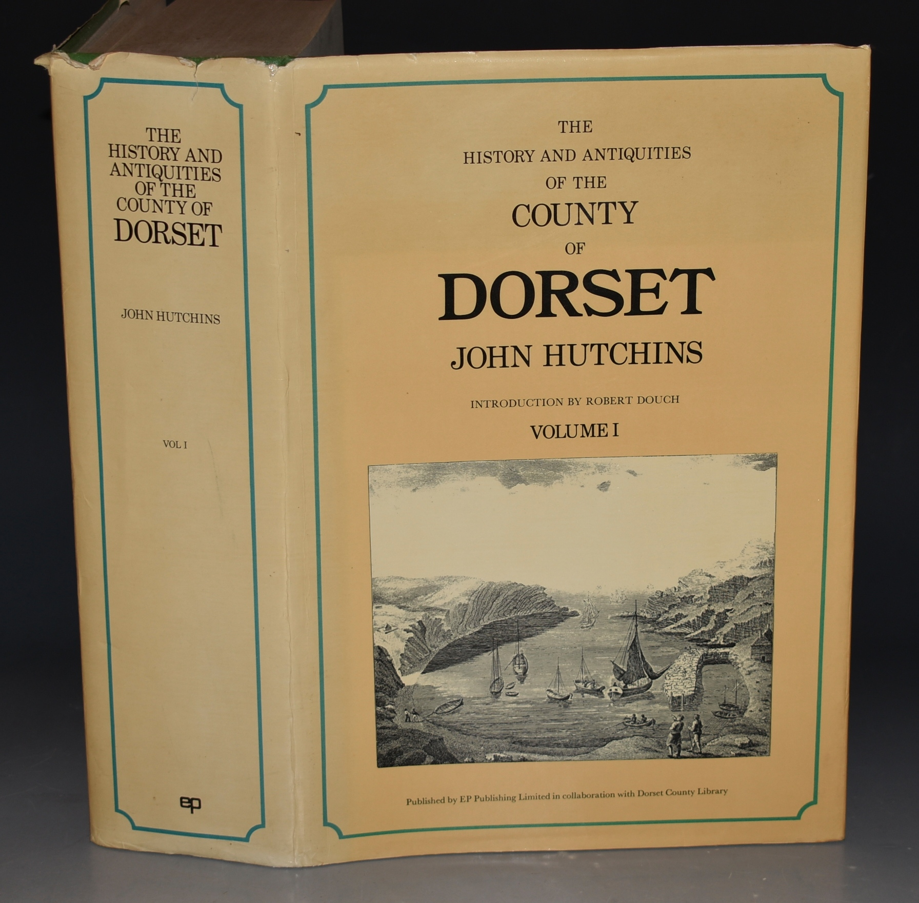 Image for History and Antiquities of the County of Dorset. Volume I. Compiled from the best and most ancient historians, inquisitiones, post mortem, and other valuable records and MSS in the public offices and libraries, and in private hands. With a copy of Domesday Book and the Inquisitio Gheldi for the County: Interpersed with some remarkable particulars of natural history; and adorned with a correct map of the county, and views of antiquities, seats of the nobility and gentry, &c. Reprint of the third edition by W.Shipp and J.W.Hodson. With a new introduction by Robert Douch. Volume I only.