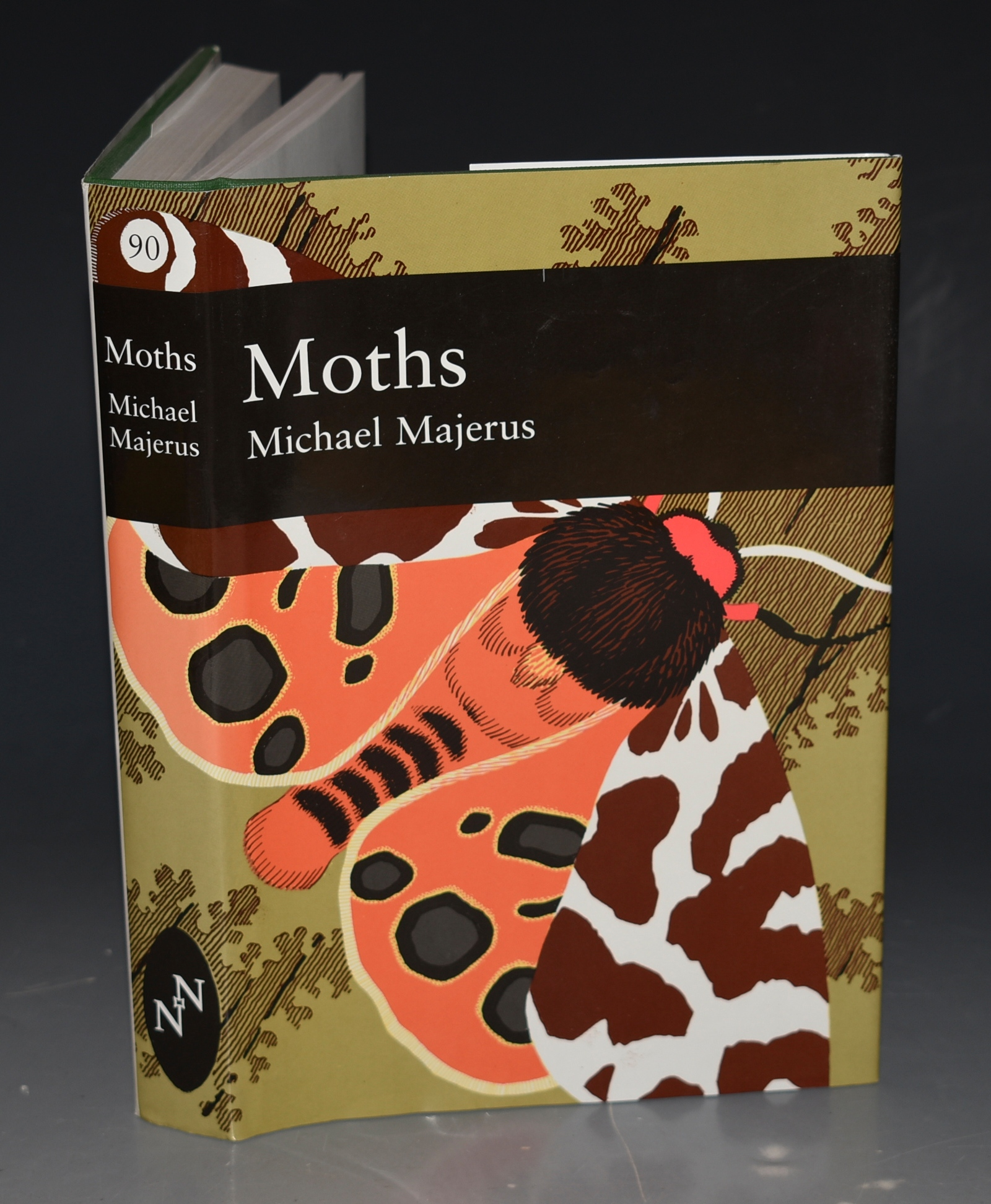 Image for Moths New Naturalist (90)