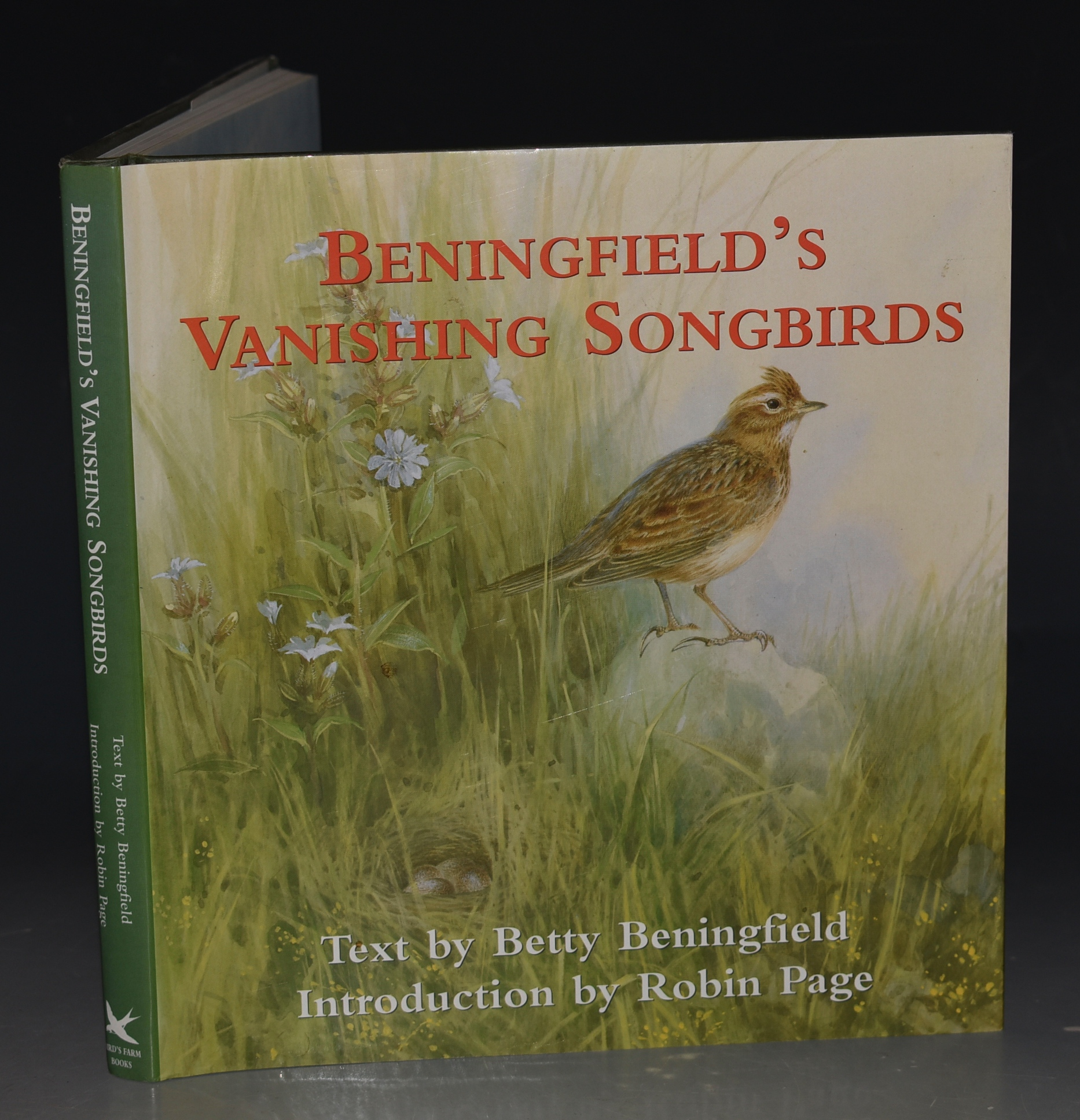 Image for Beningfield's Vanishing Songbirds. Text by Betty Beningfield. Introduction by Robin Page. Signed copy.