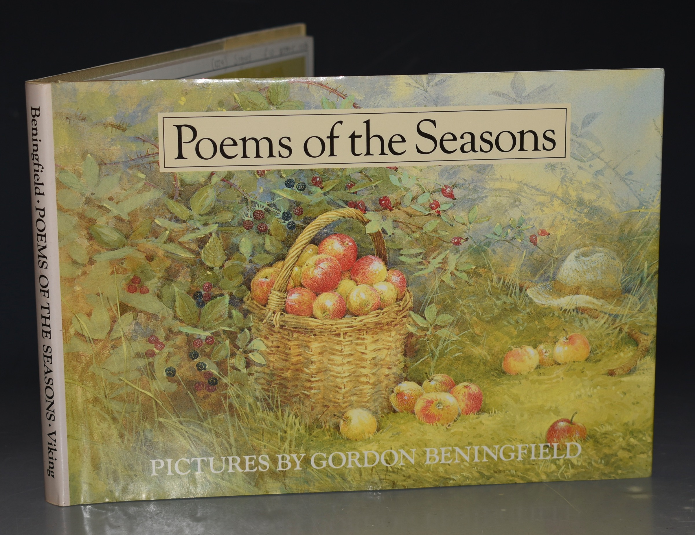 Image for Poems Of The Seasons. Pictures by Gordon Beningfield. SIGNED COPY.