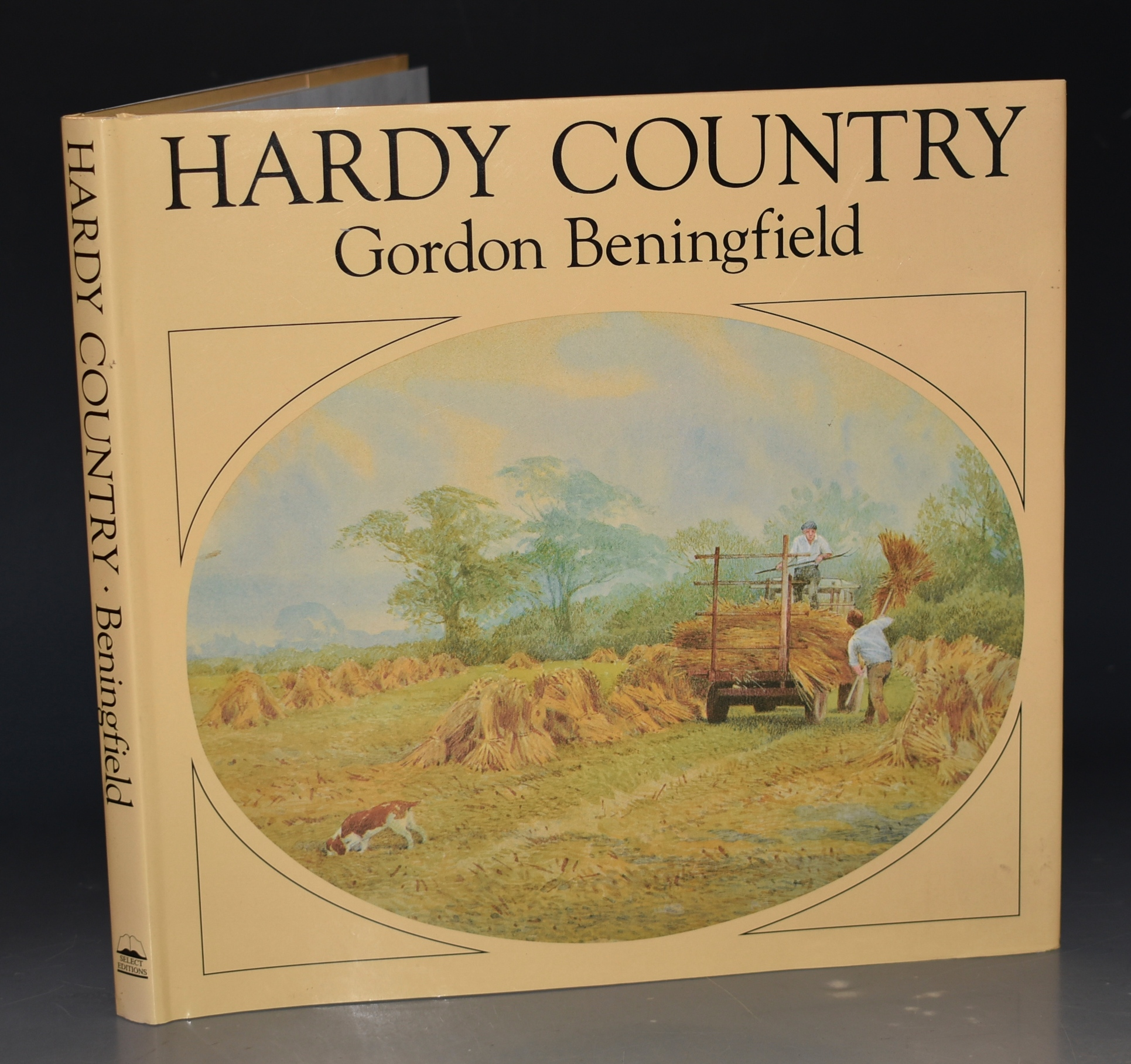 Image for Hardy Country. Introduction and Captions by Gordon Beningfield. Text by Anthea Zeman. SIGNED COPY.