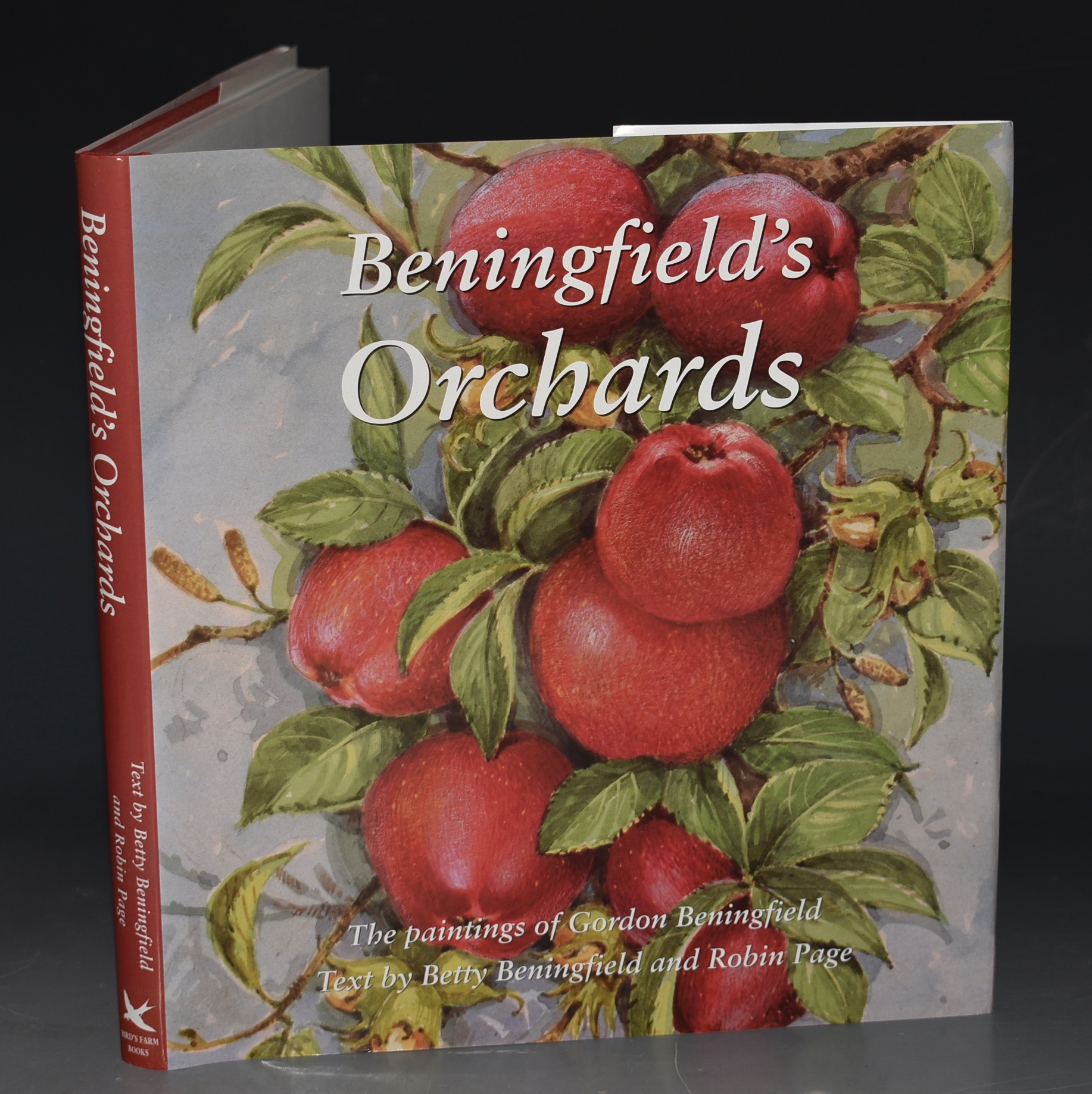 Image for Beningfield's Orchards. The paintings of Gordon Beningfield. Text by Bett Beningfield and Robin Page. Signed copy.