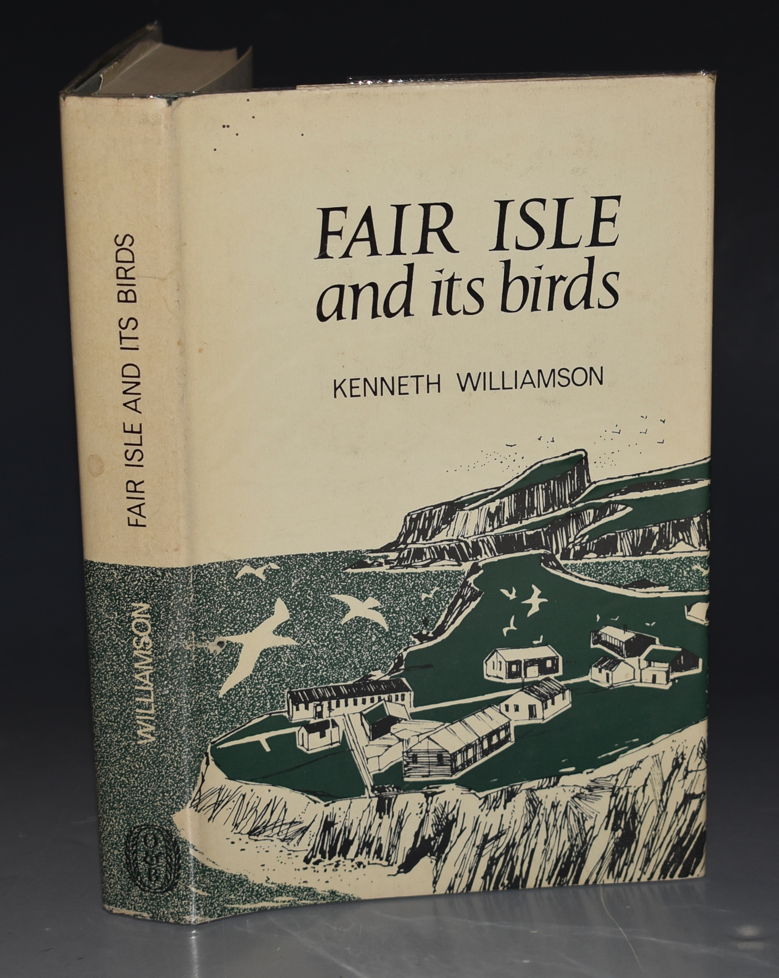 Image for Fair Isle and Its Birds. With a List of Birds of Fair Isle by Peter Davis. Illsutrated with Photographs by John Peterson. SIGNED COPY.