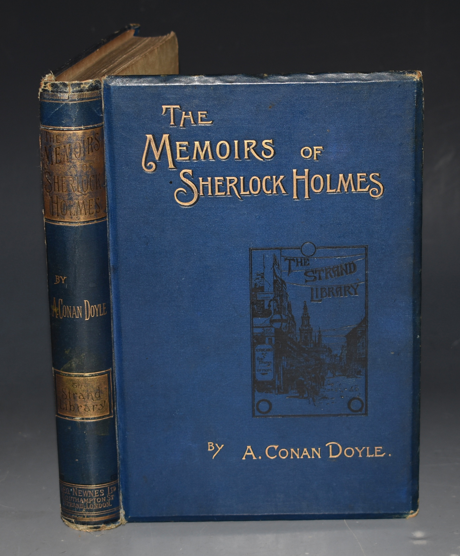 Image for The Memoirs of Sherlock Holmes. Illustrations by Sidney Paget.