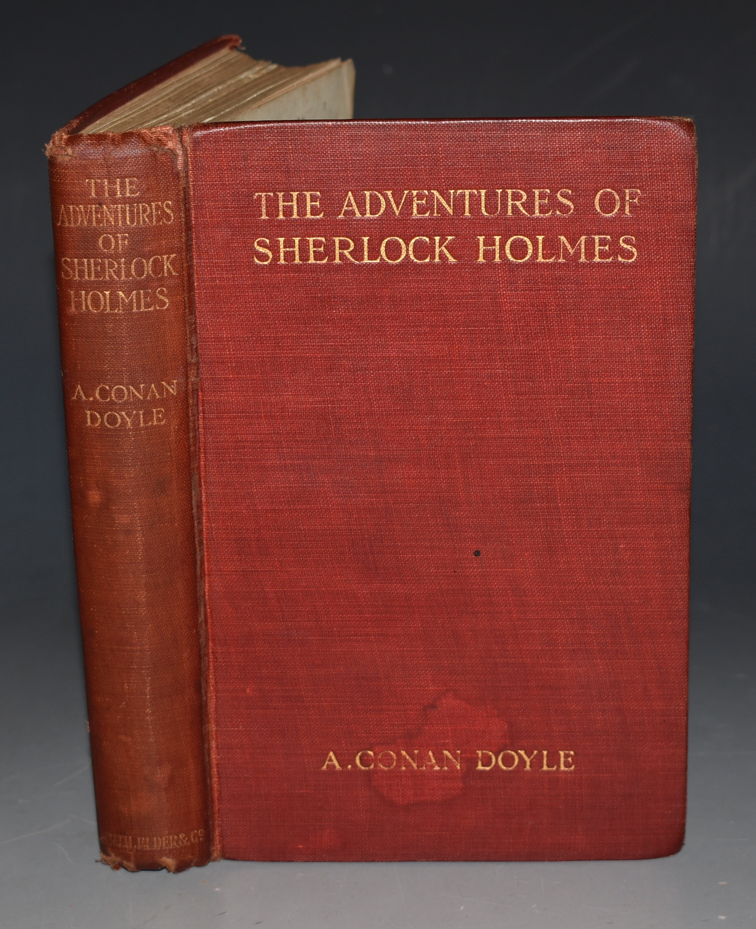 Image for The Adventures of Sherlock Holmes. Illustrated by Sidney Paget. New Edition.