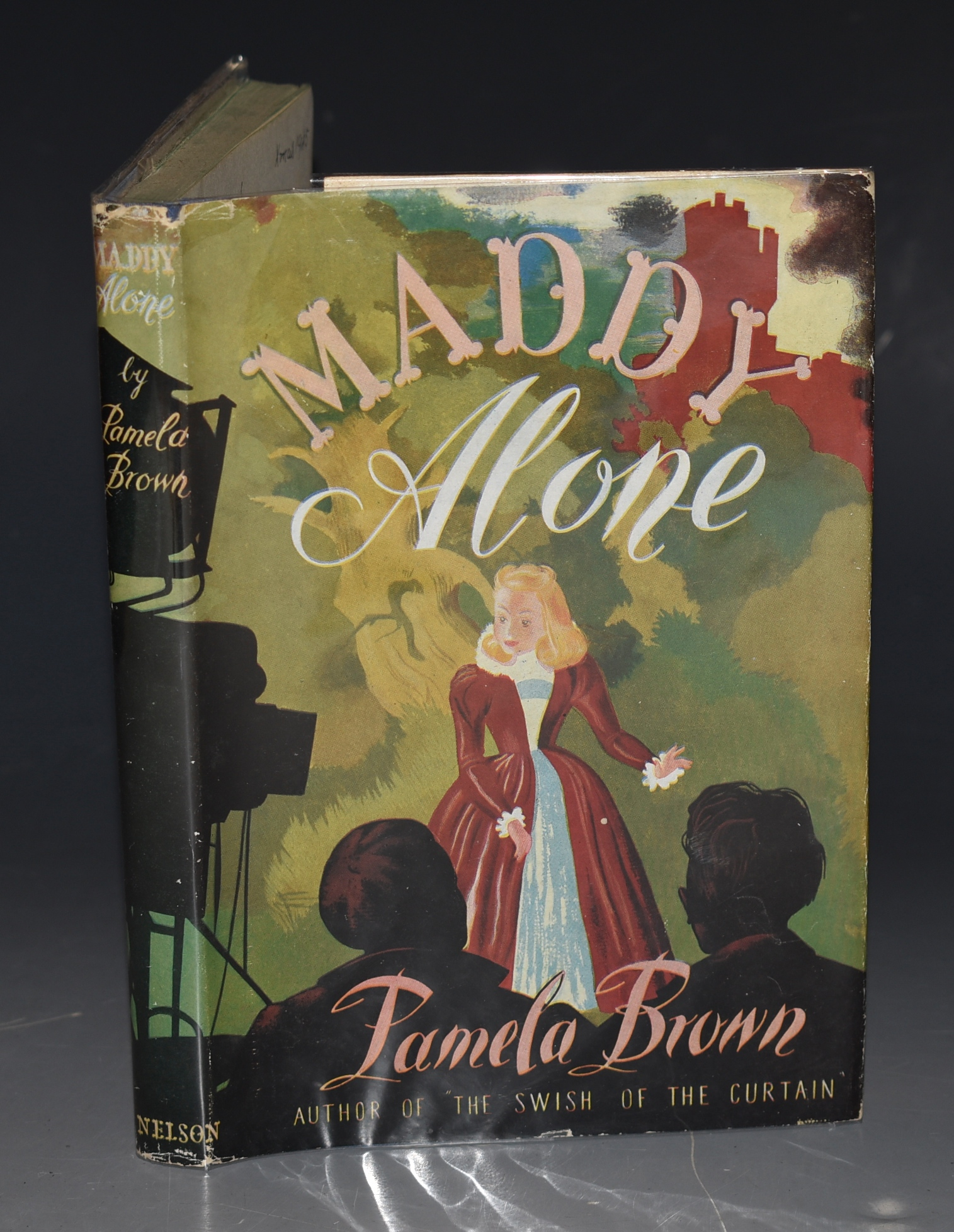 Image for Maddy Alone. Illustrated by Newton Whittaker.